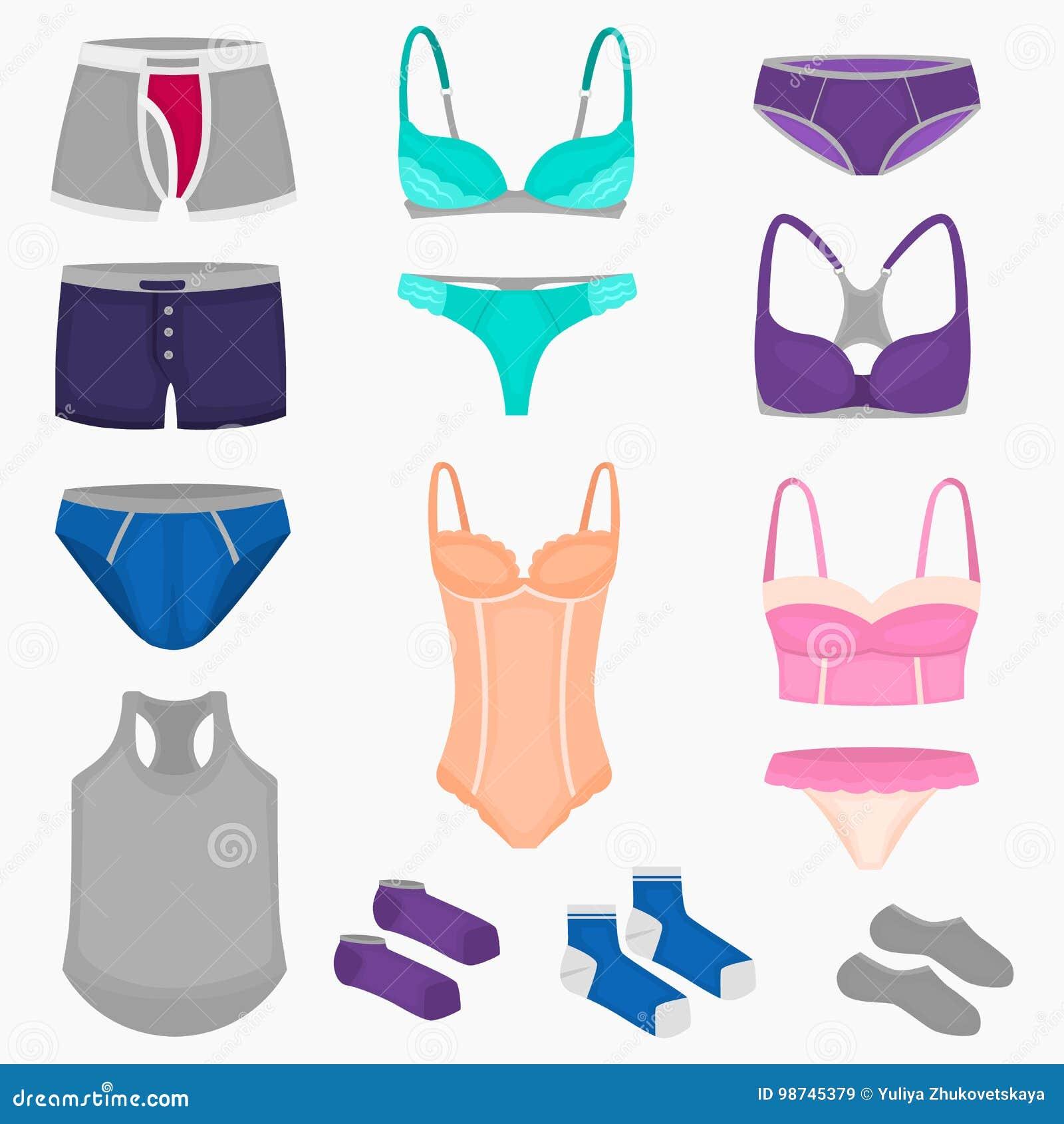 Сети женского белья в женском белье и панталонах
