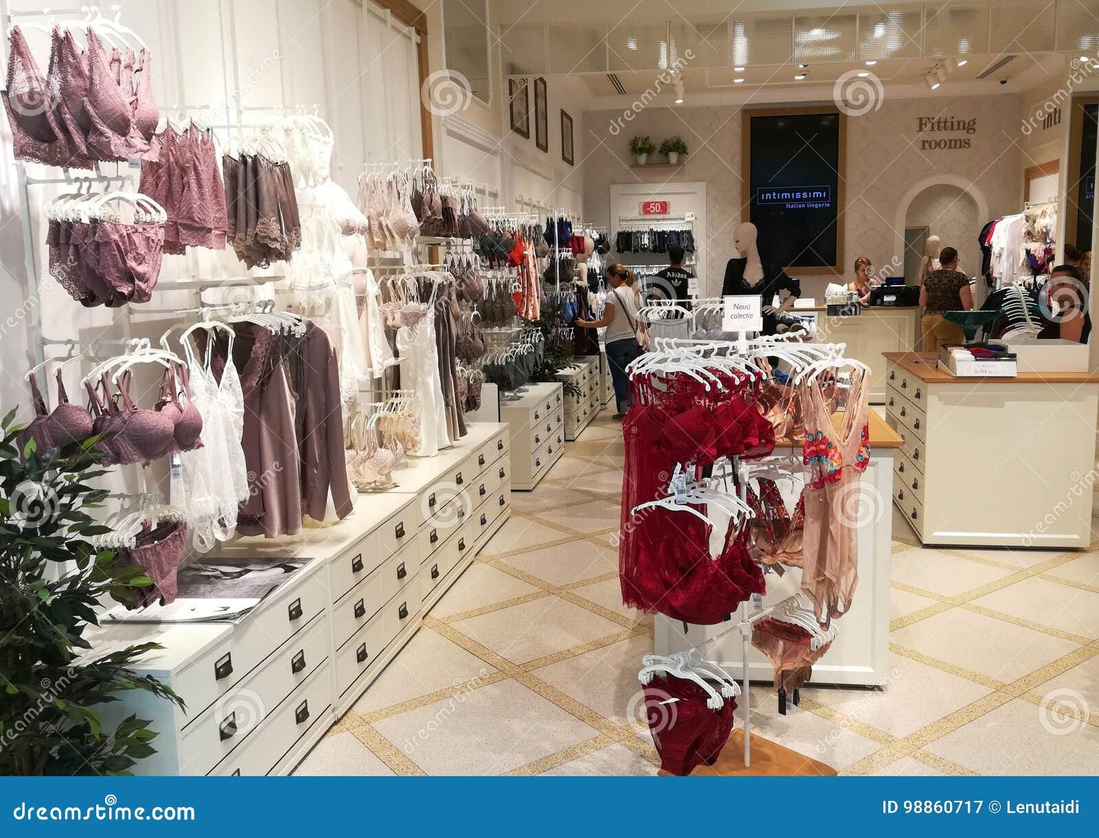 магазины женского нижнего белья intimissimi