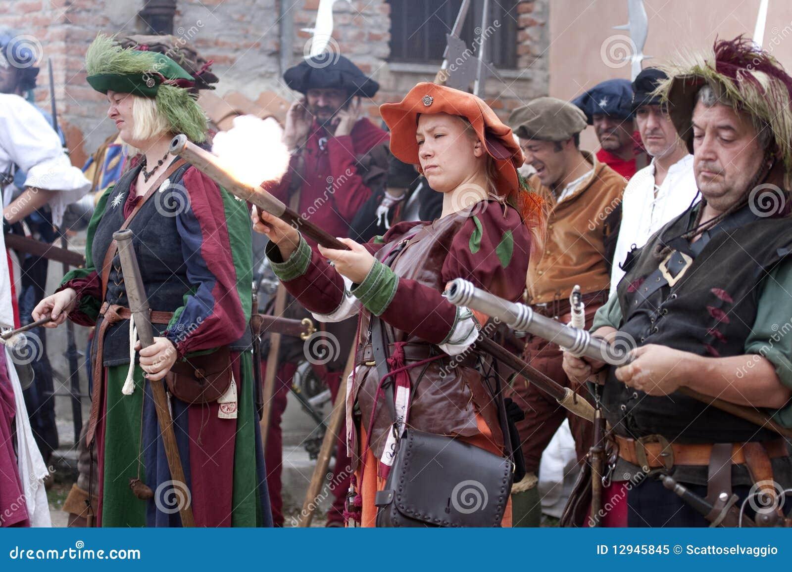 женщины pavia landsknechts сражения