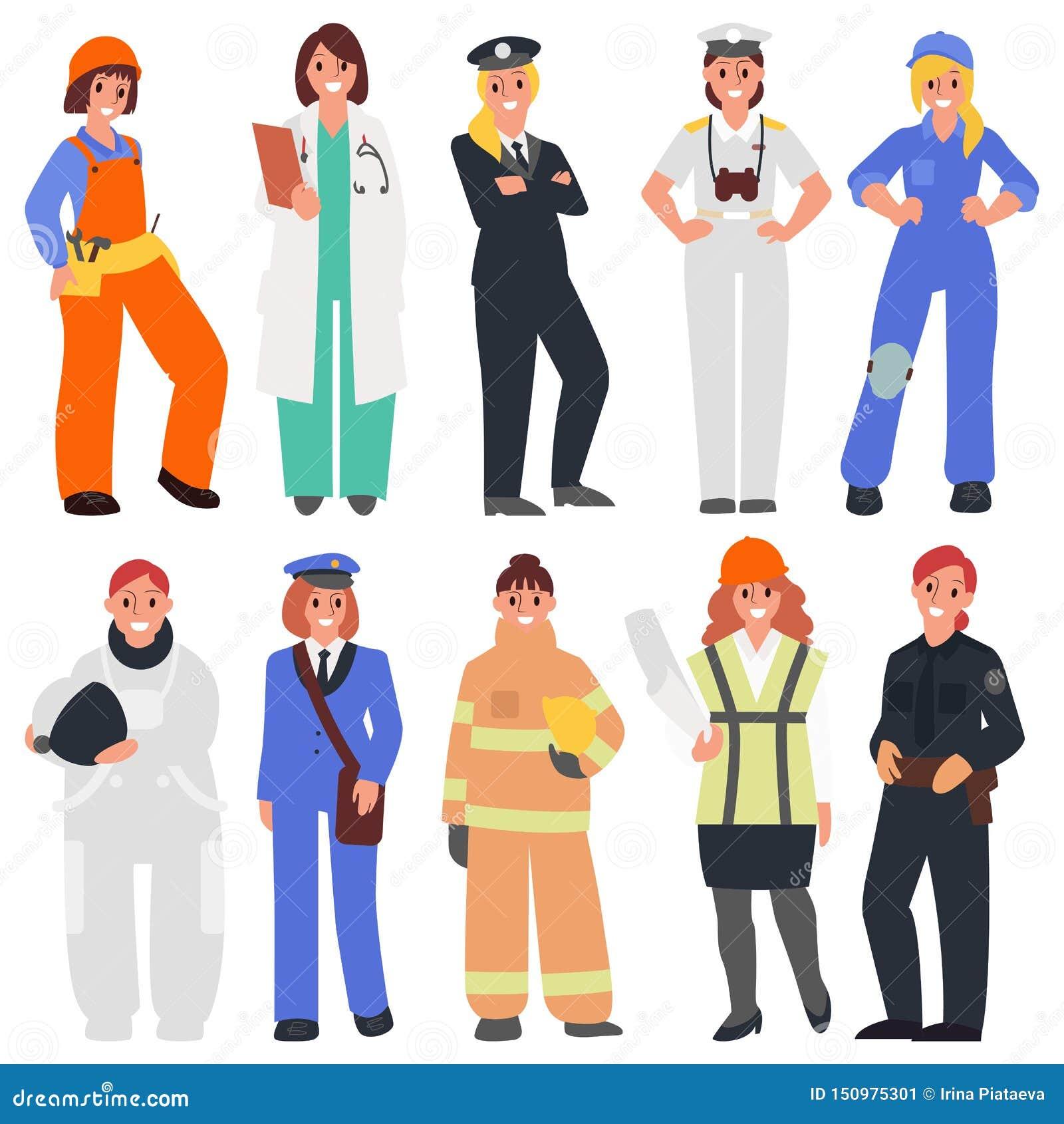10 женщин в мужских профессиях