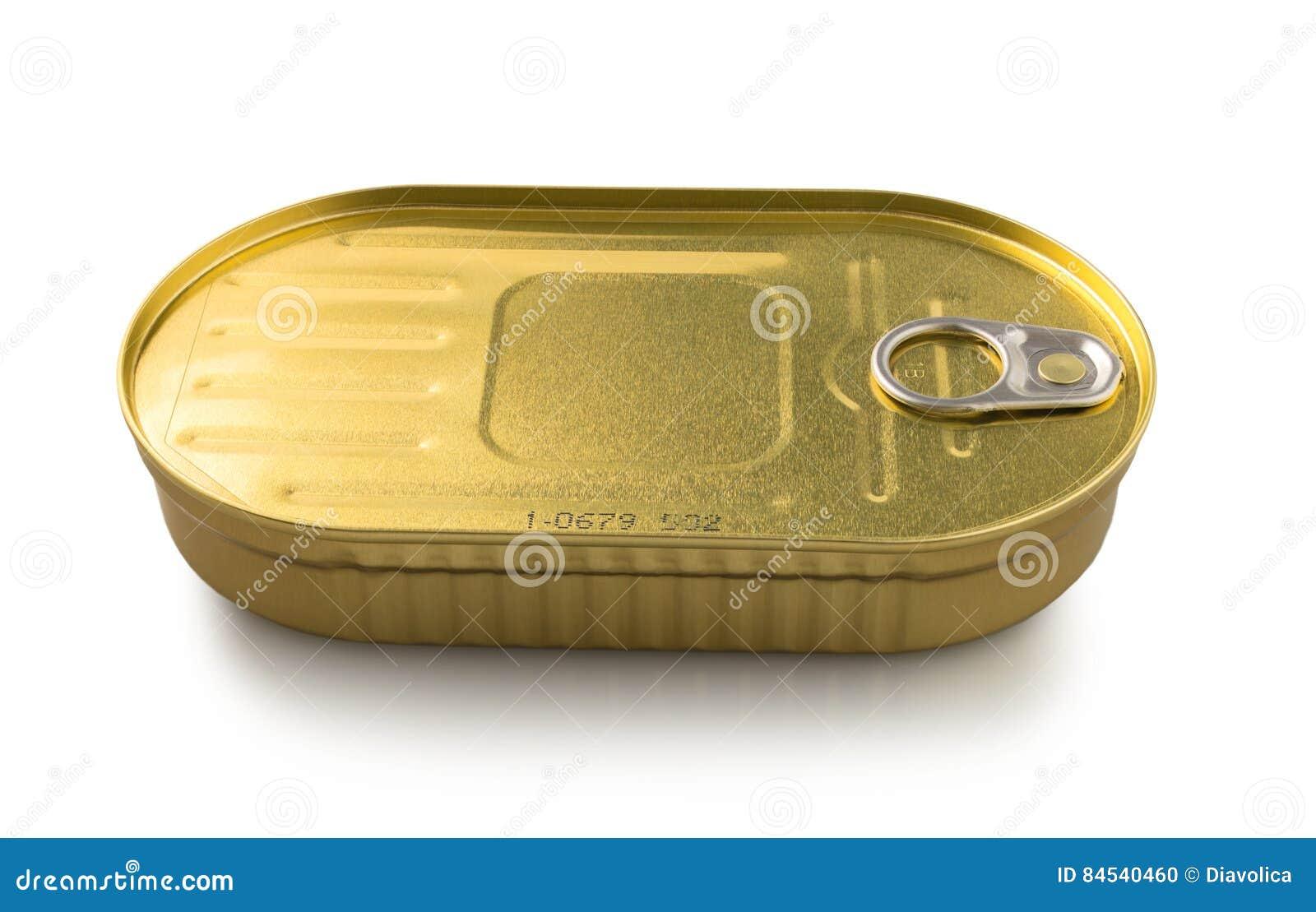 Жестяная коробка металла