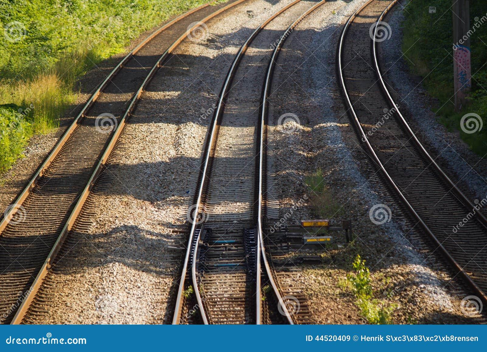 железнодорожные следы