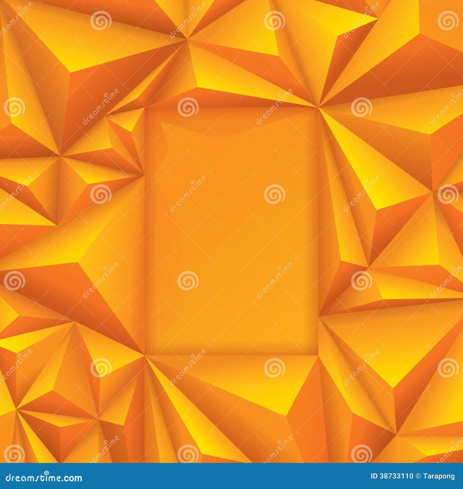 Желтая геометрическая предпосылка.
