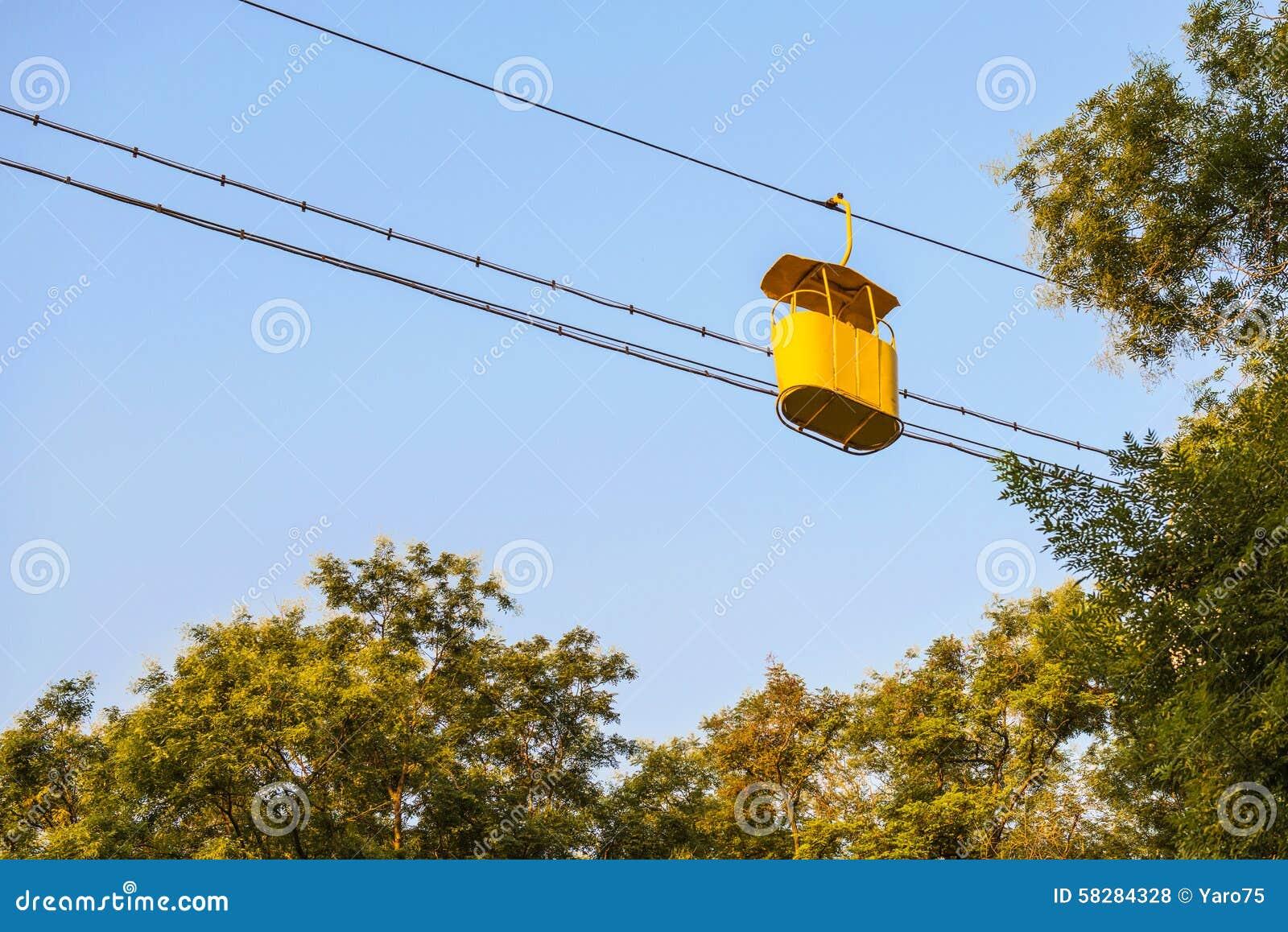 Желтая кабина