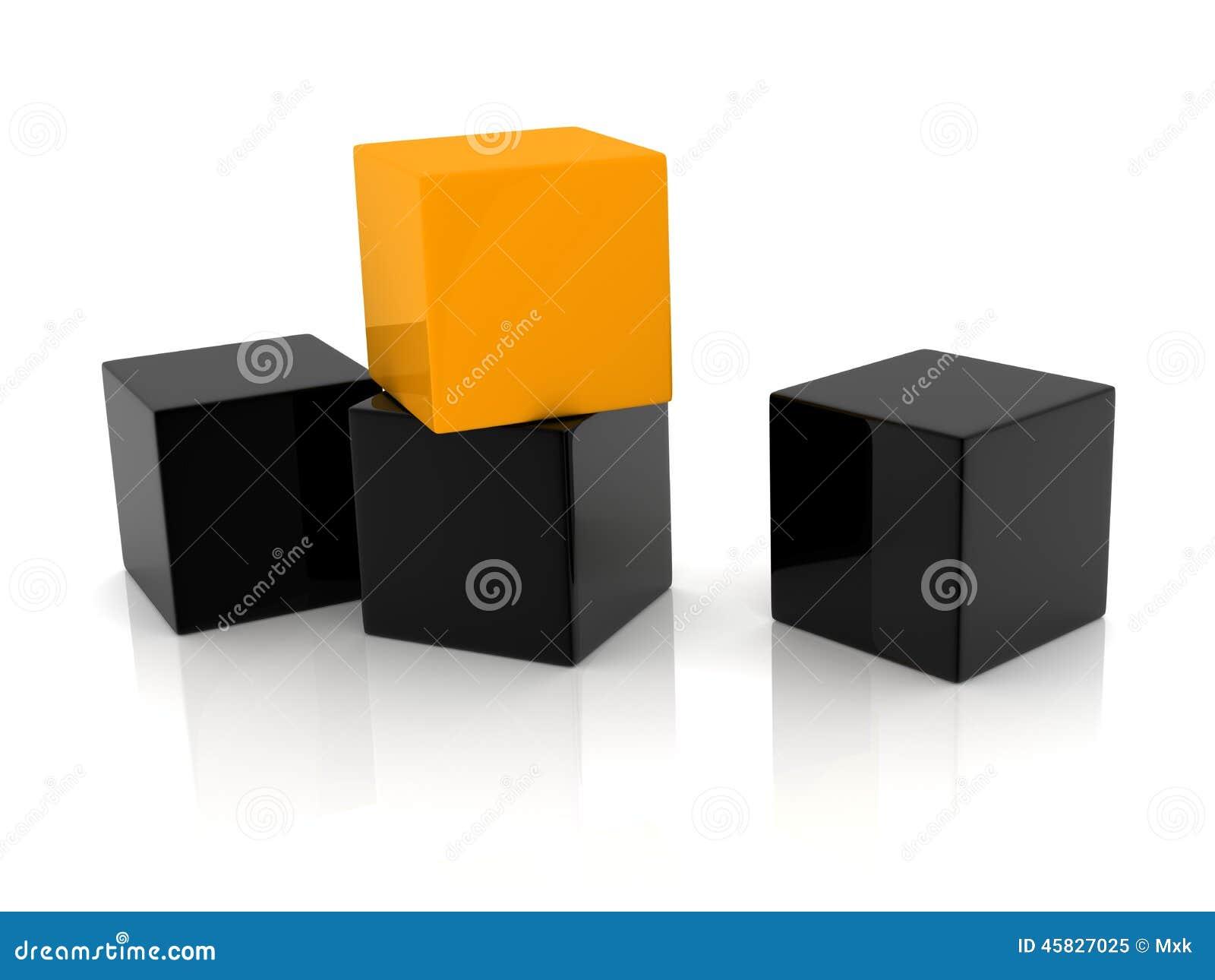 Желтая коробка