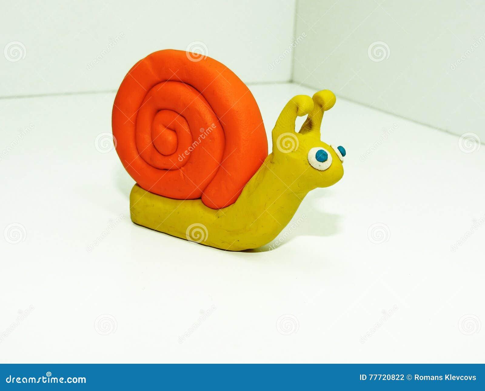 Желтая малая улитка