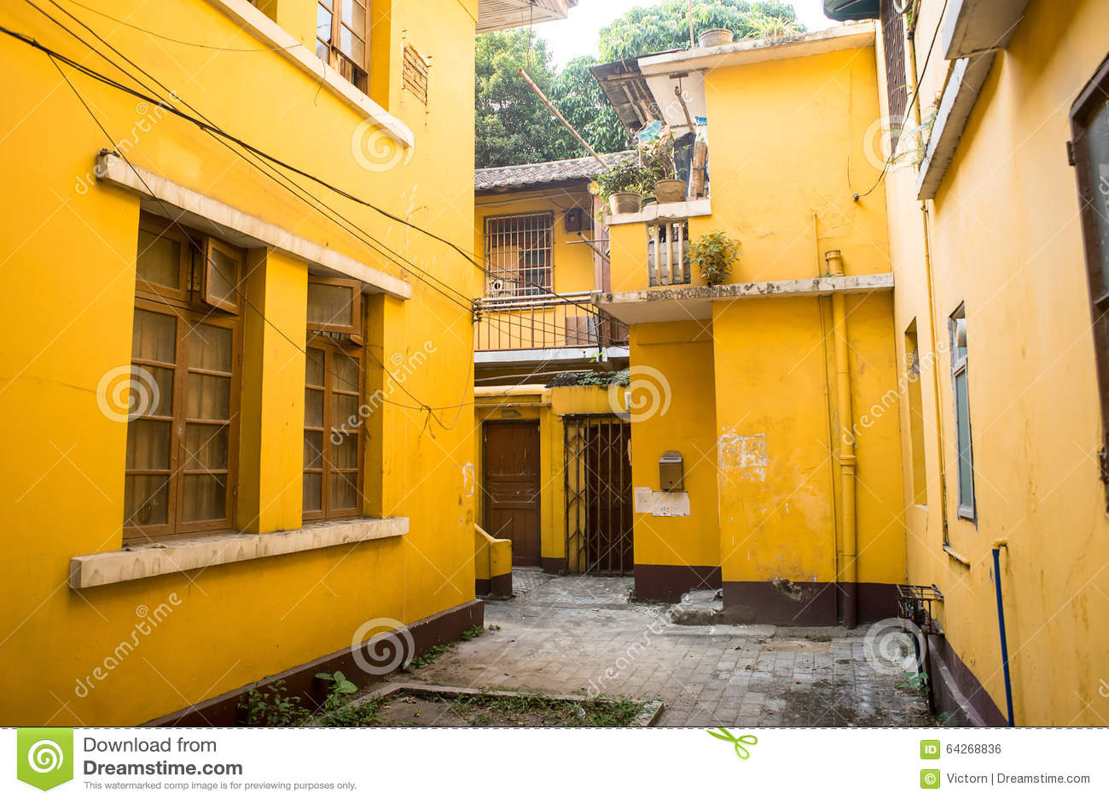 Желтые дома