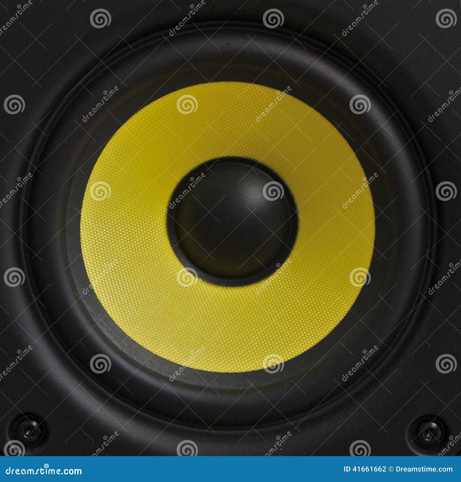 Желтый конус диктора