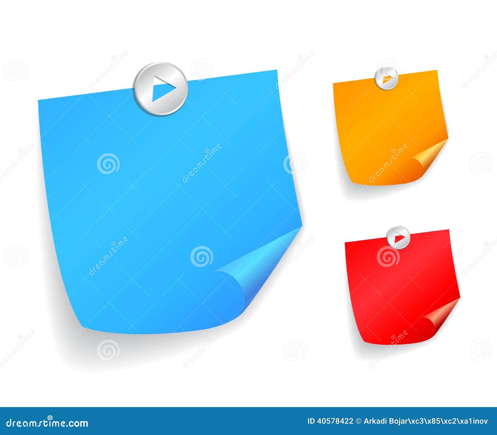 желтый цвет тени бумажного путя примечания клиппирования липкий