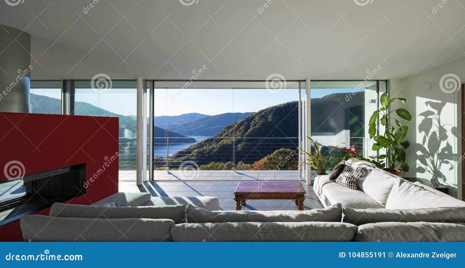 Живущая комната роскошного дома