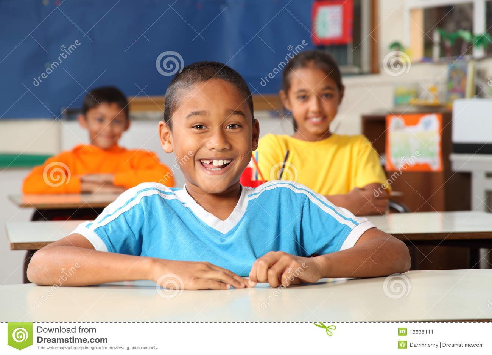 жизнерадостная начальная школа класса детей