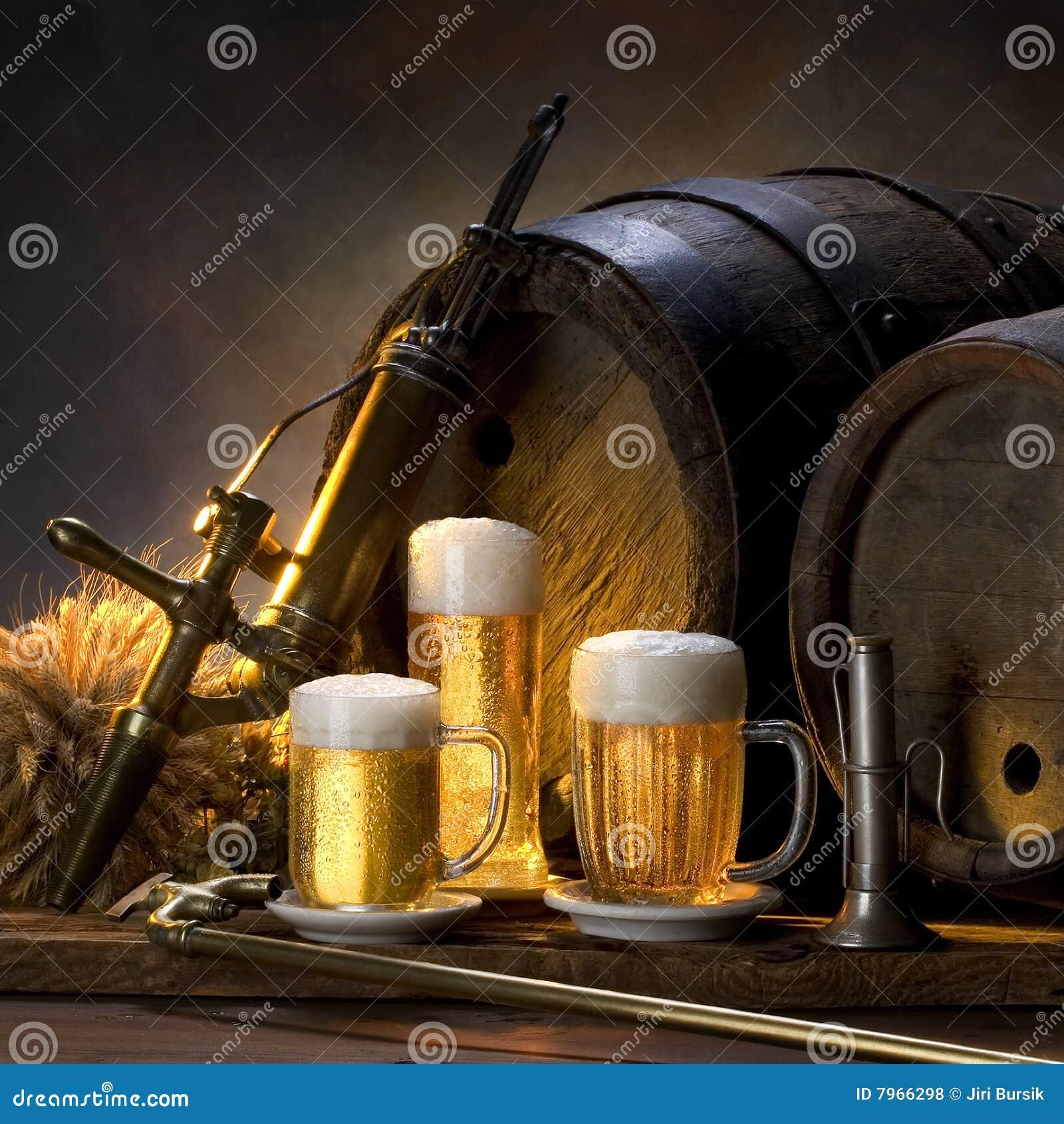 жизнь пива все еще
