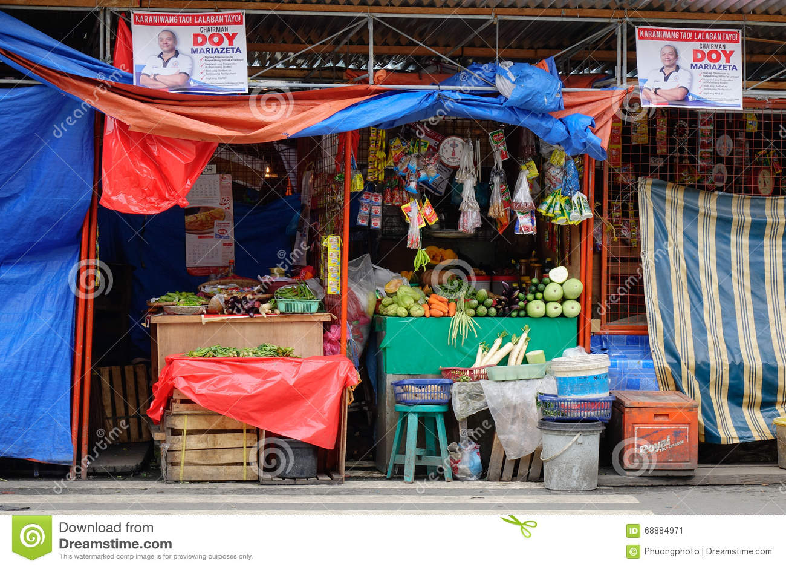 Жизнь улицы в Маниле, Филиппинах