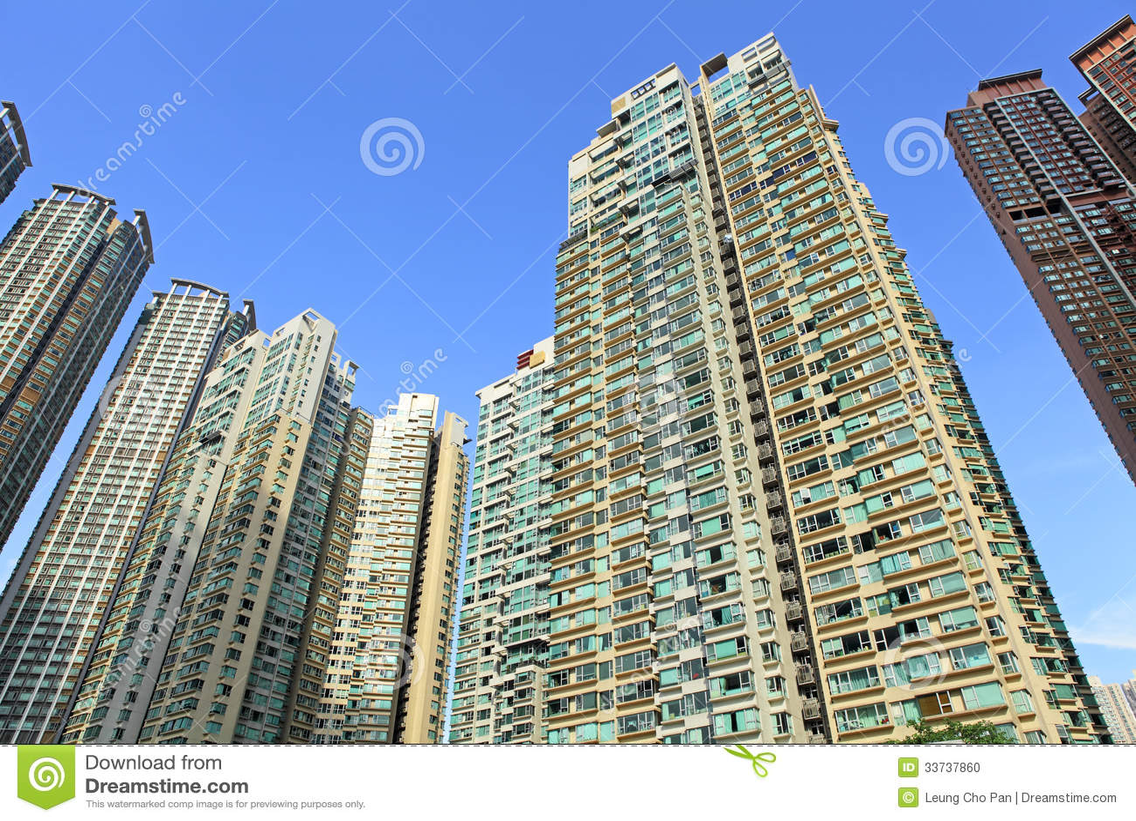 Жилые дома Гонконга