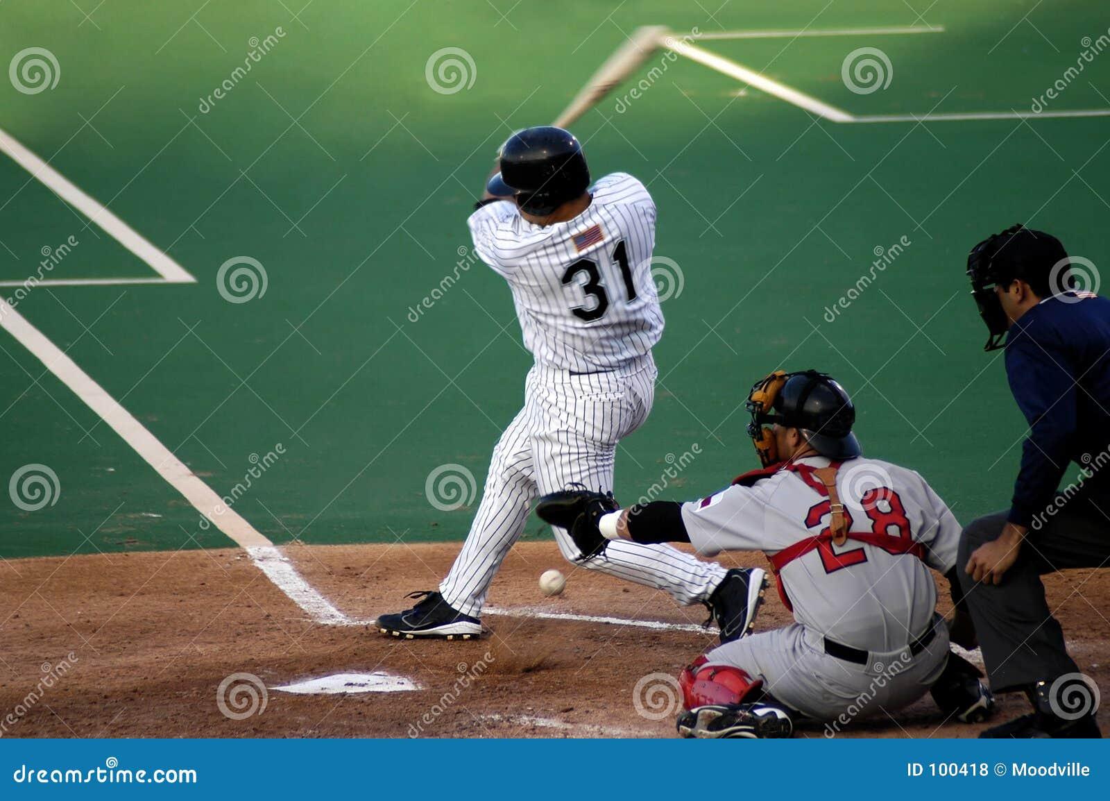 забастовка спортов бейсбола