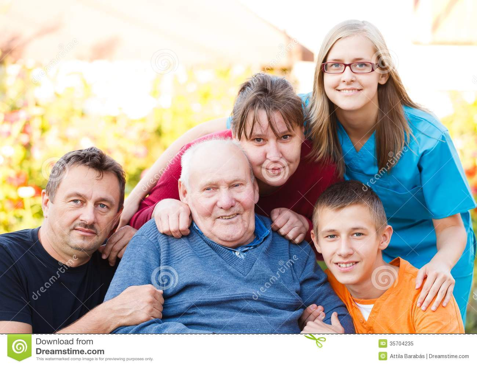 Забота семьи