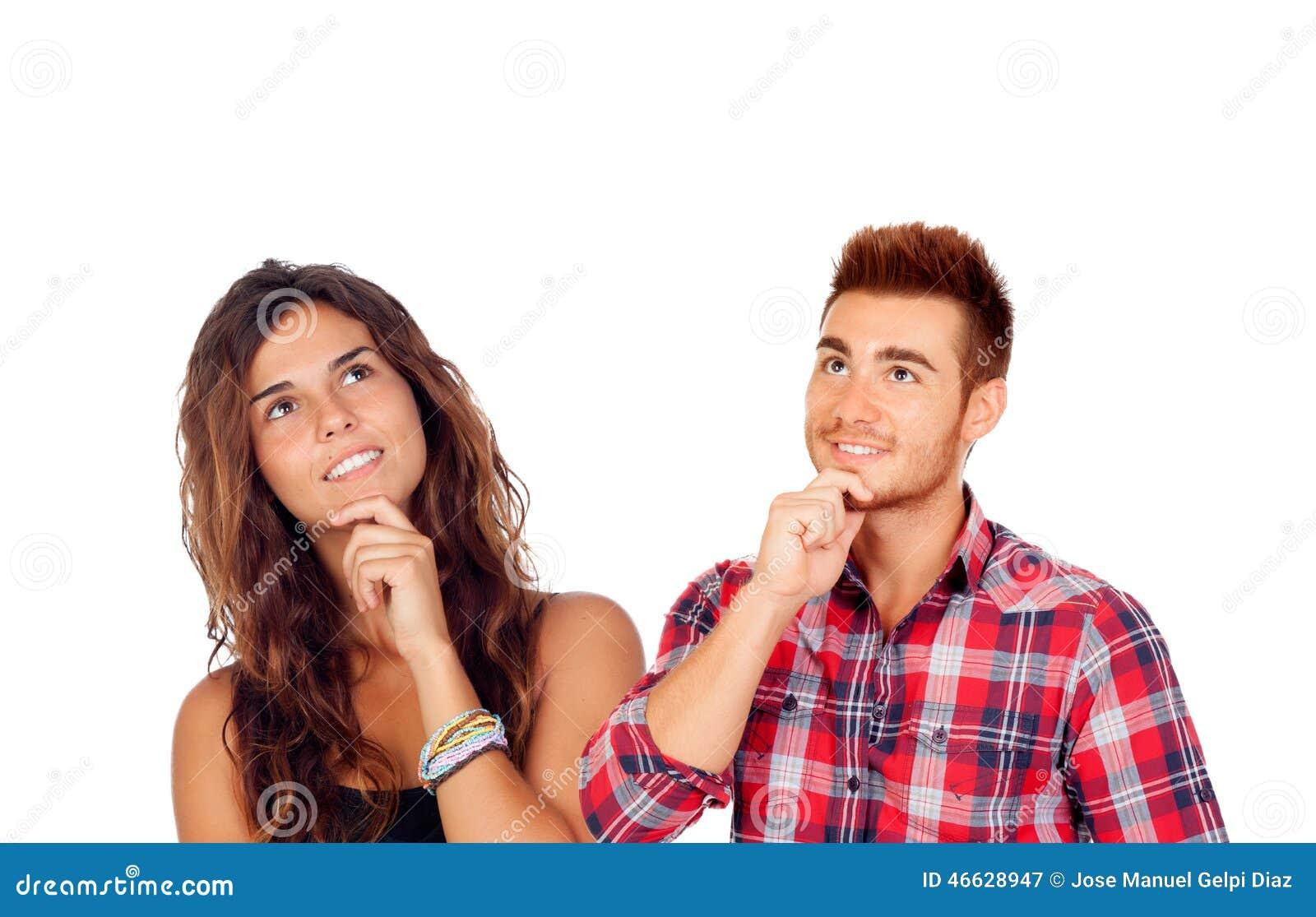 Заботливые молодые пары в влюбленности