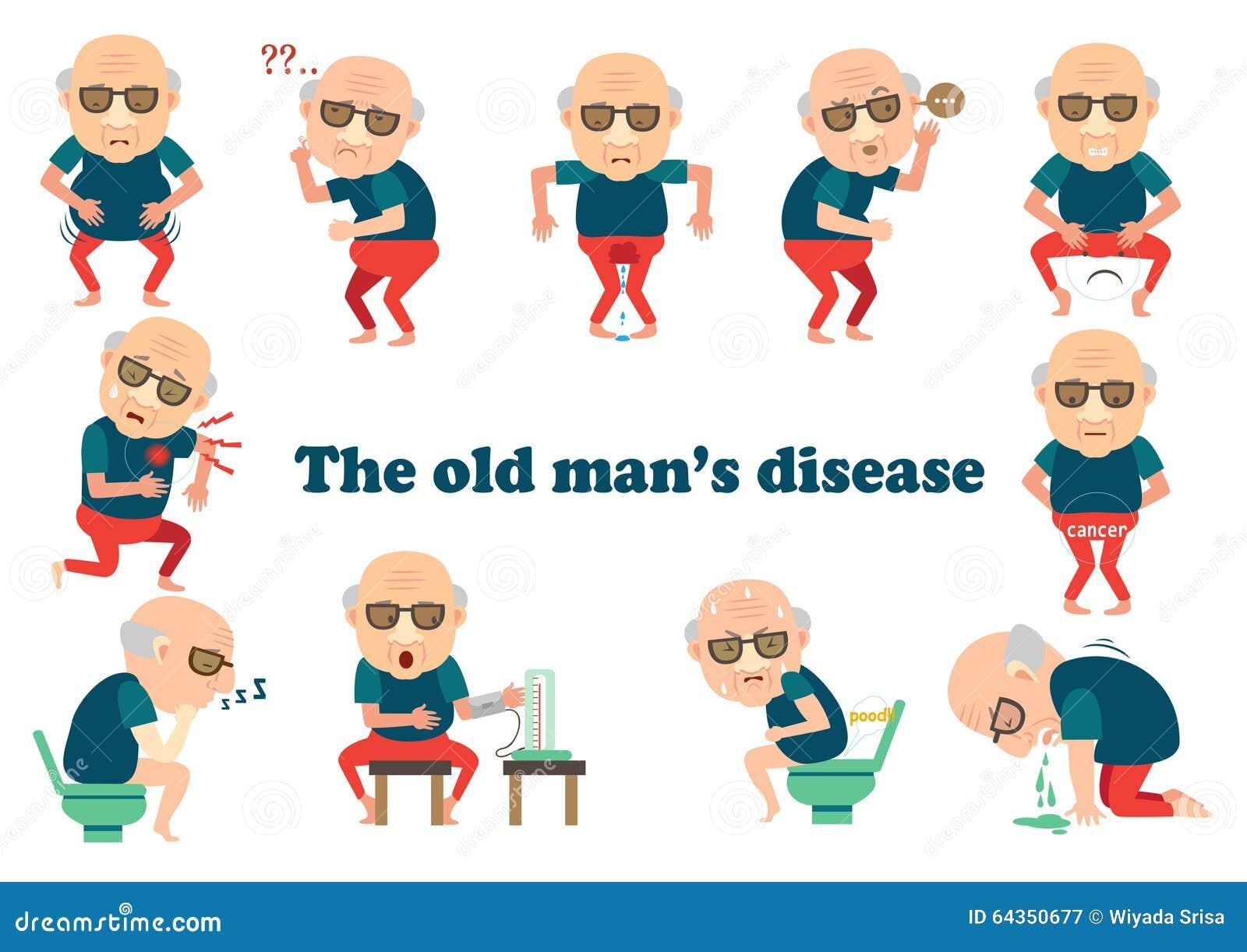 Заболевание старика