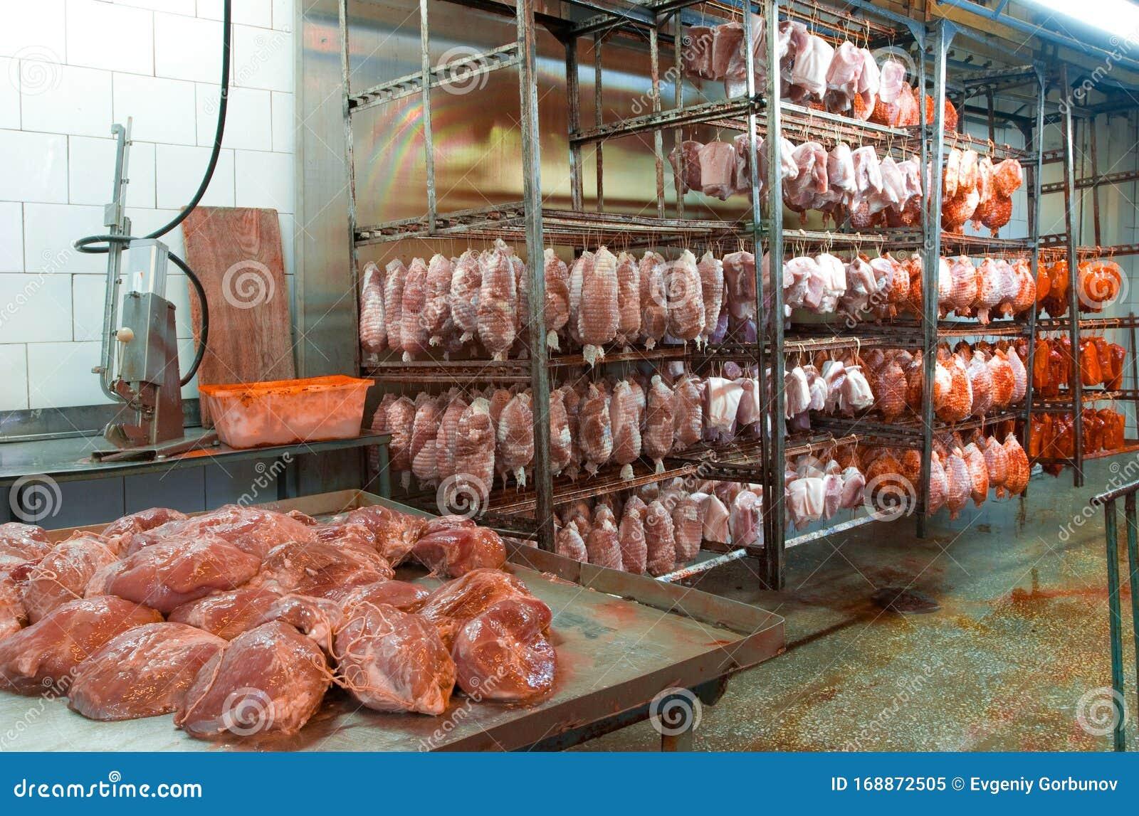 Конвейер для обработки мяса элеватор бот