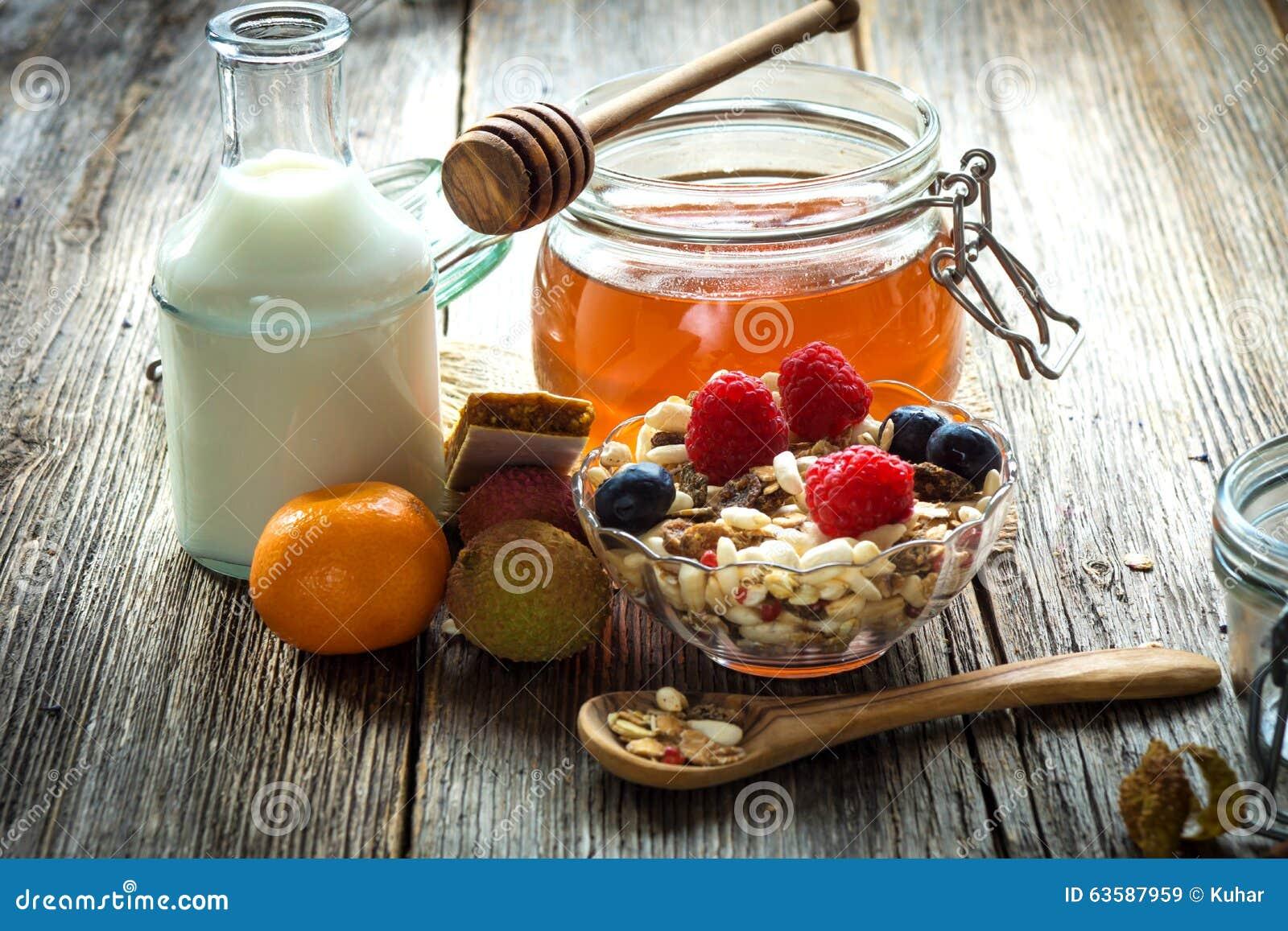 завтрак здоровый