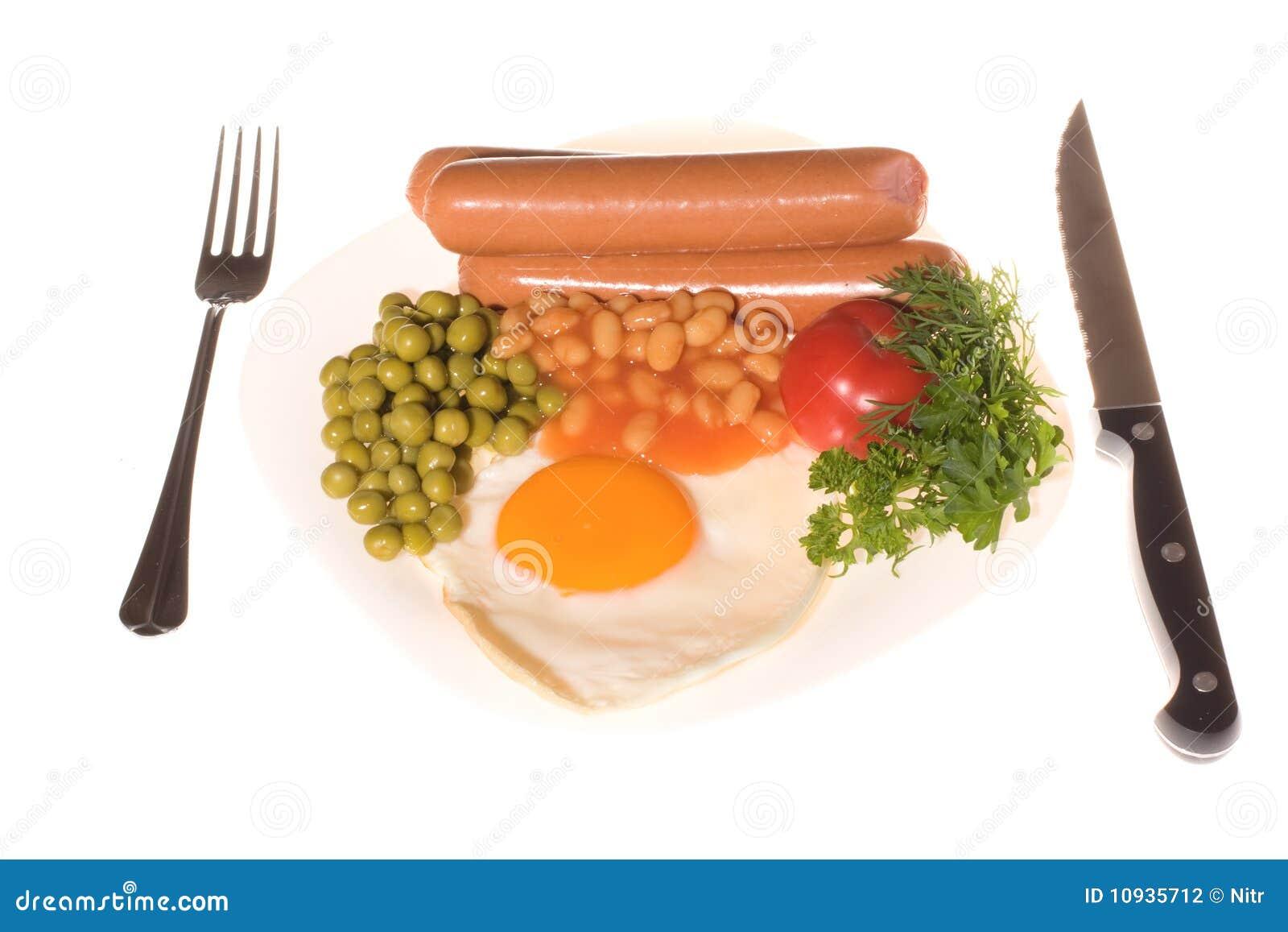 завтрак сваренный свеже