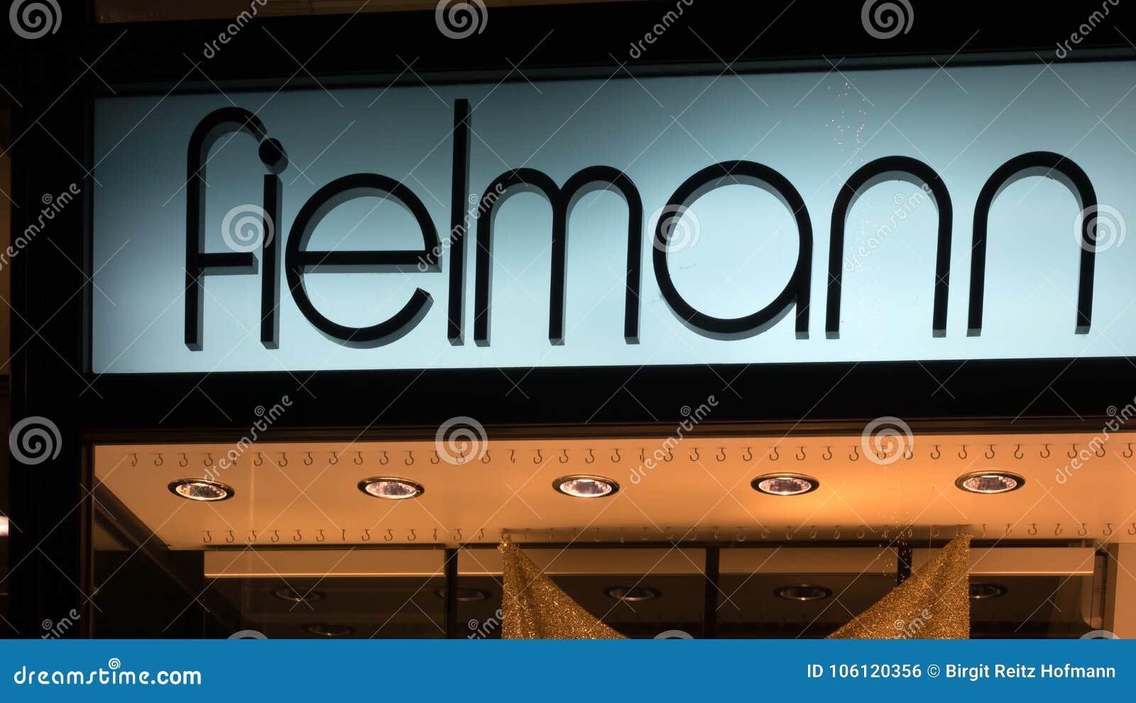 Загоренный логотип FIELMANN