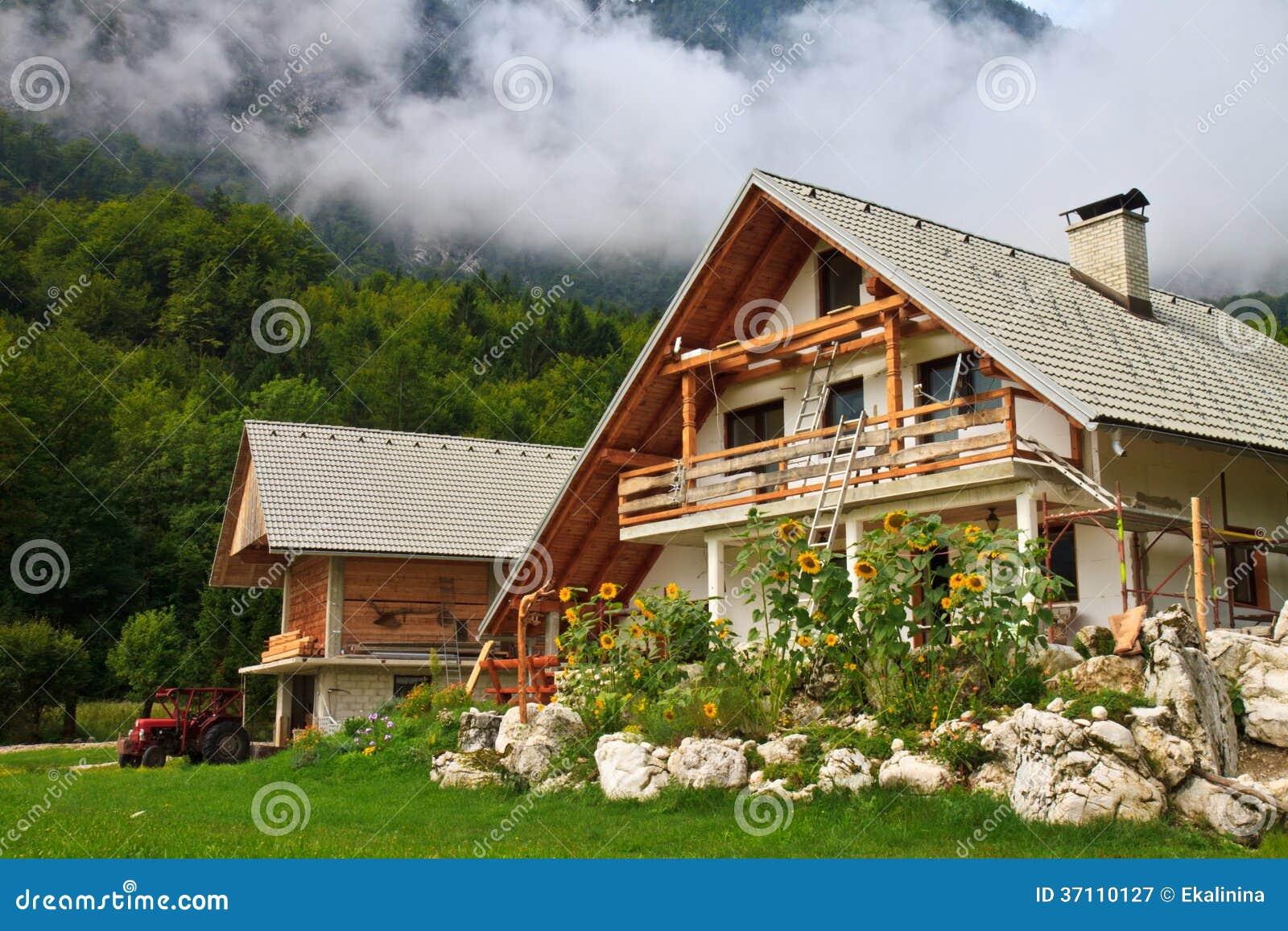 Загородный дом в альпах цены на квартиры в сербии