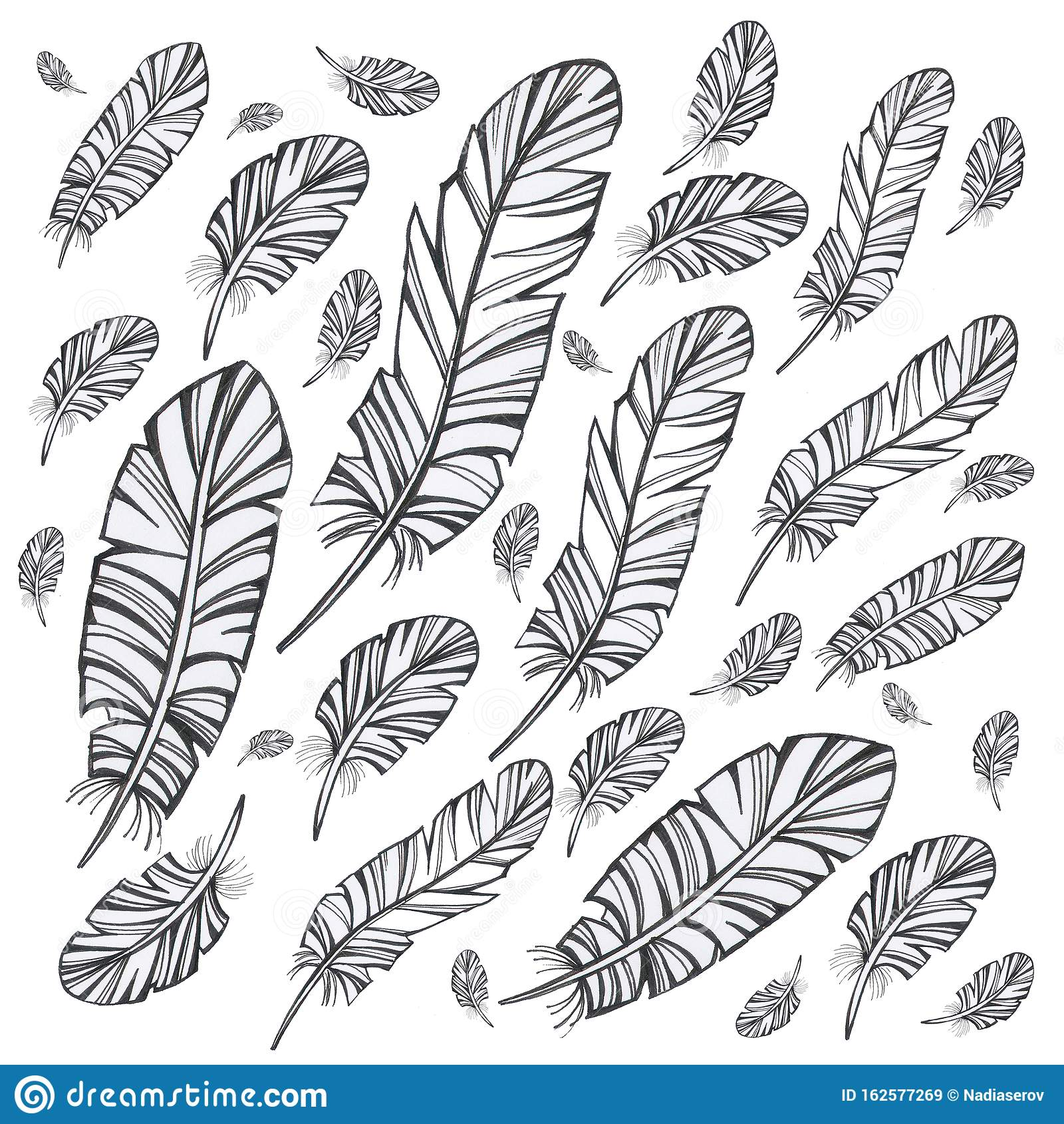 Обои перо, лист, узор, Цвет. Абстракции foto 14