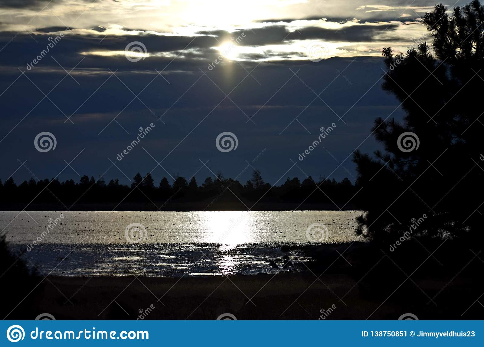 Задержанный восход солнца