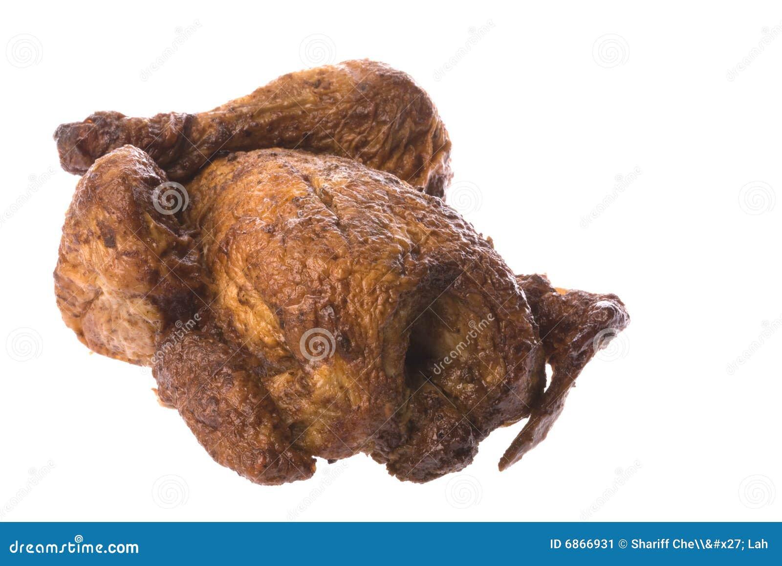 Зажаренный в духовке цыпленк цыпленок