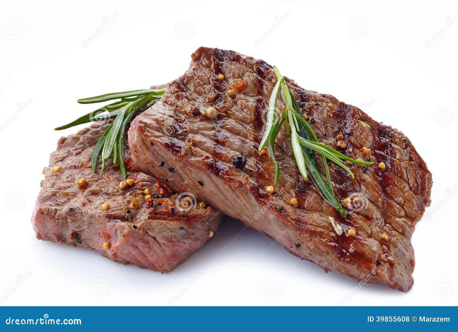 Зажаренный стейк говядины
