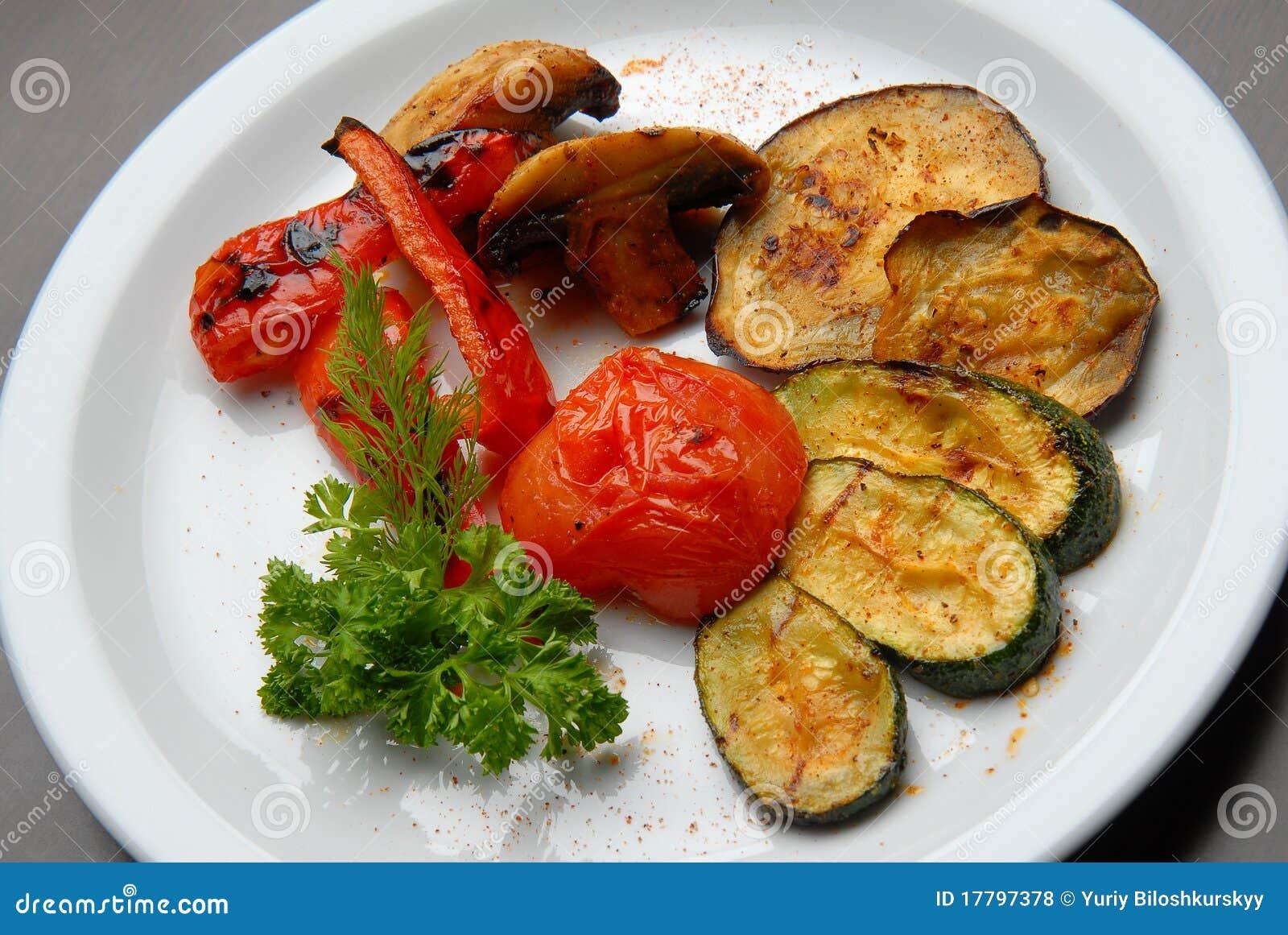 зажженные овощи