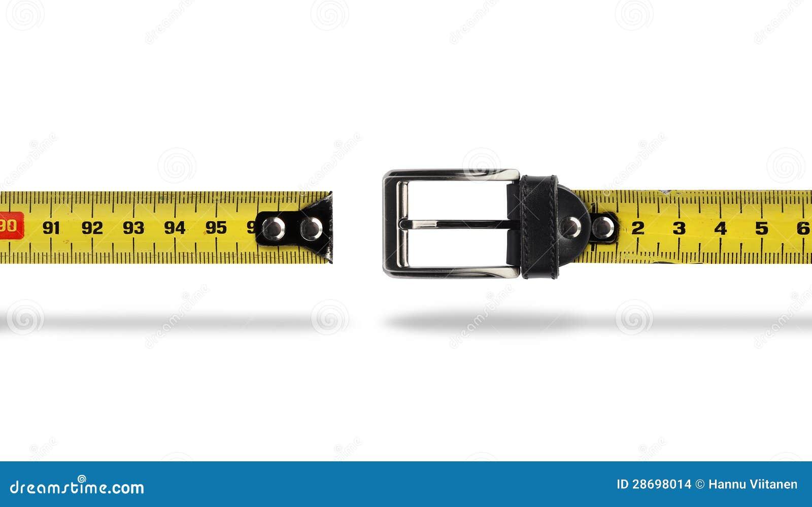 Зазор пояса измерения потери веса