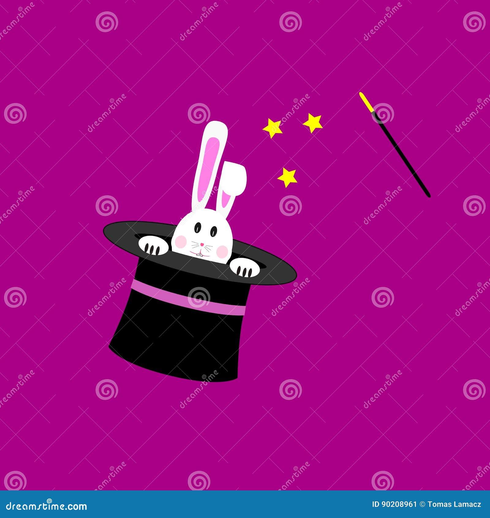 Зайчик в волшебной шляпе