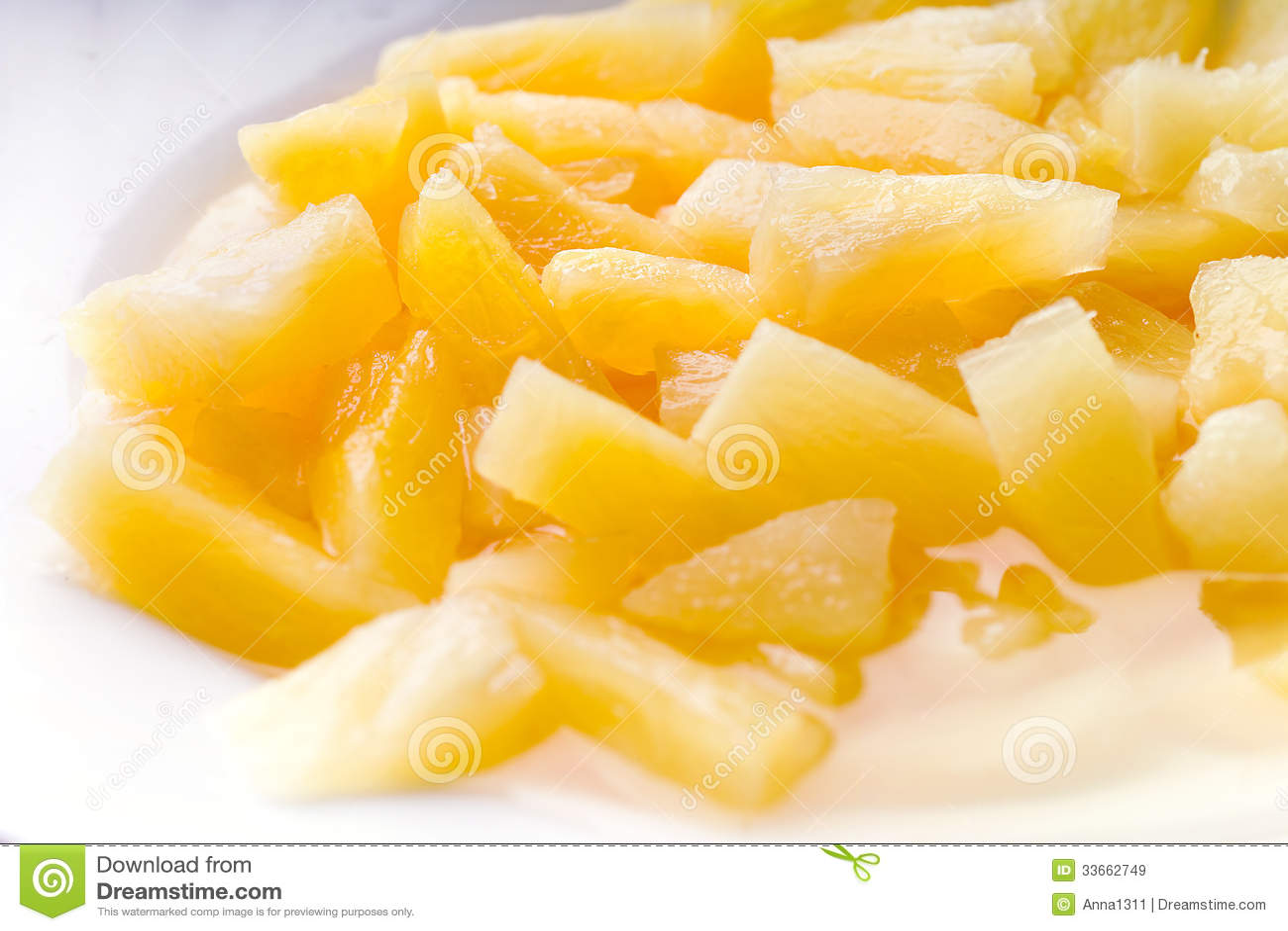 Законсервированный ананас