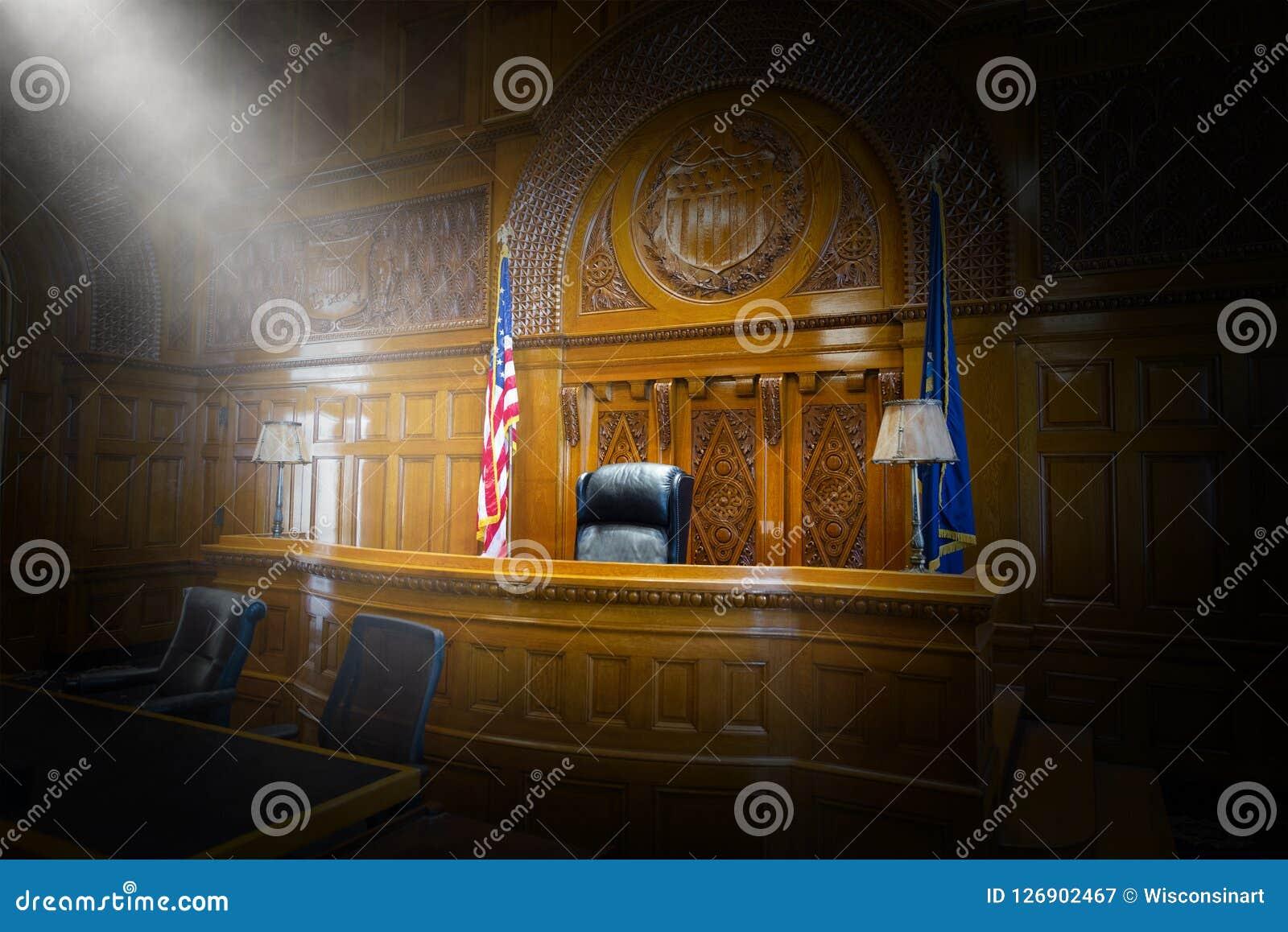Закон, суд, зал судебных заседаний, судья, стул, стенд