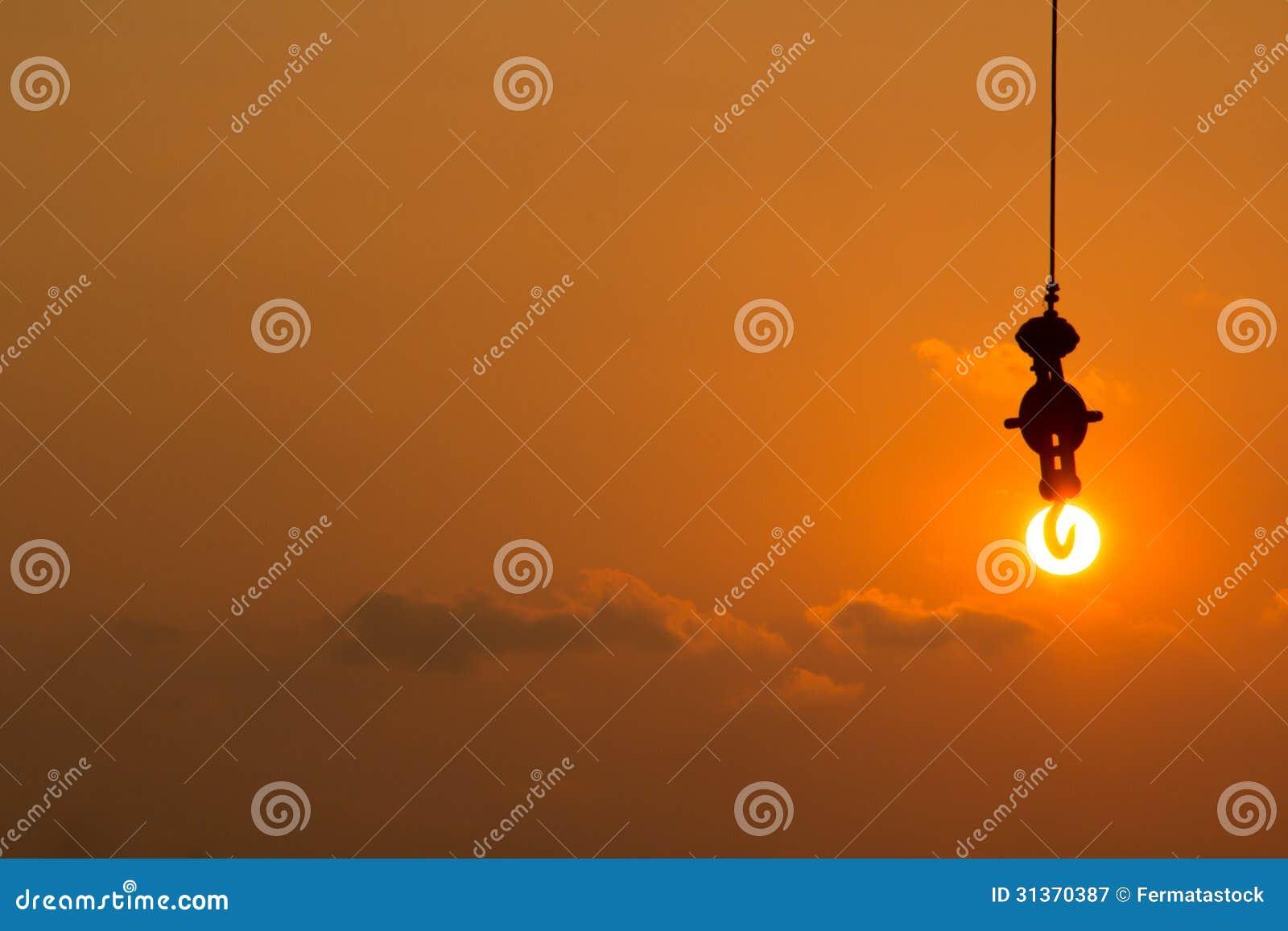 Закрепите солнце