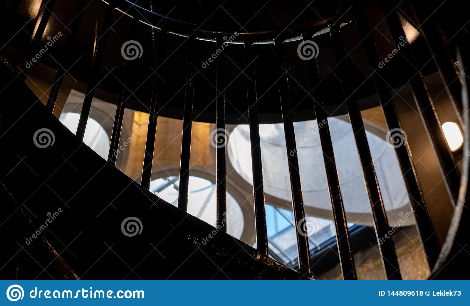 Закройте вверх интерьера музея Zeitz Mocaa современного искусства Африки,