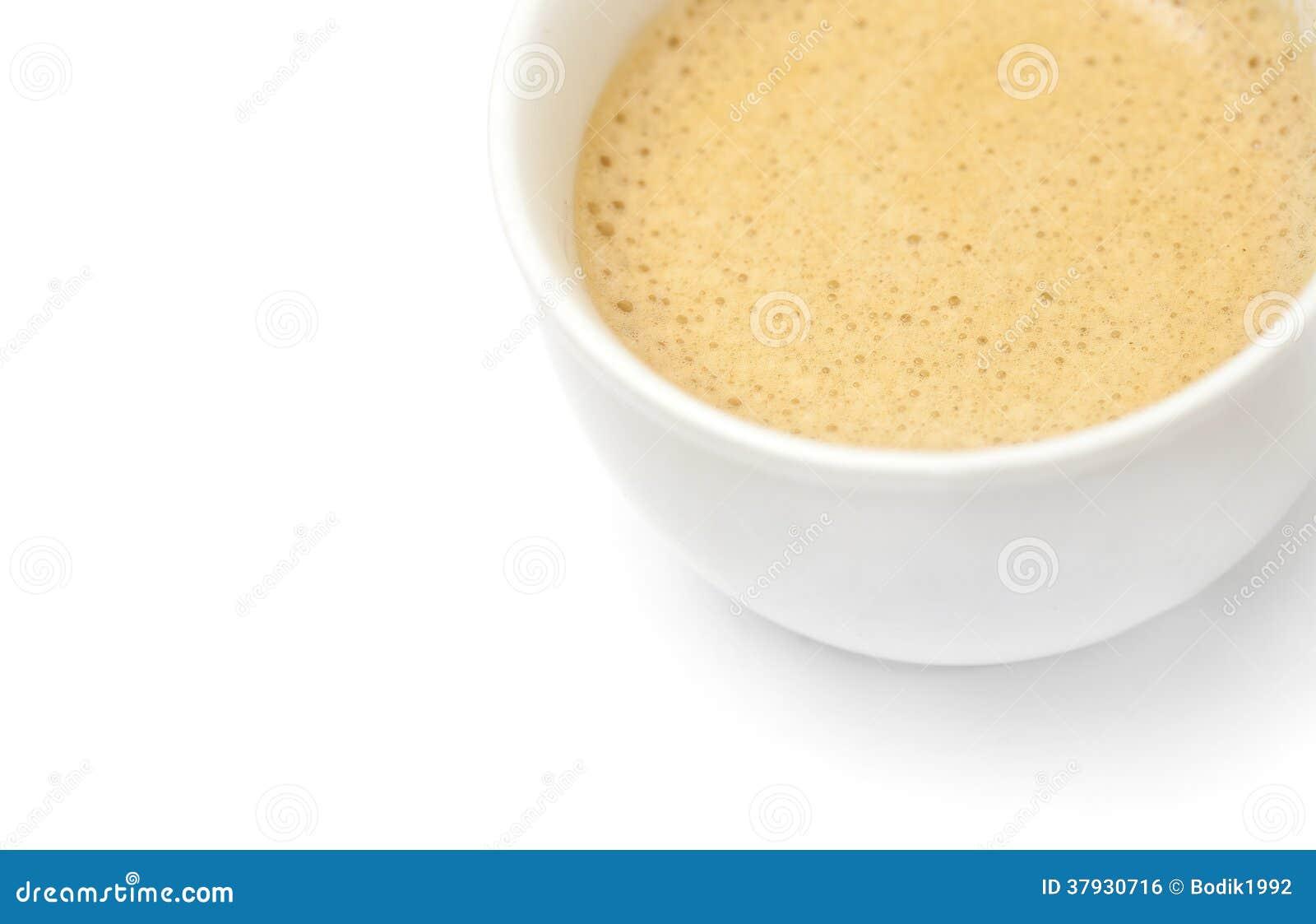 Закройте вверх кофейной чашки