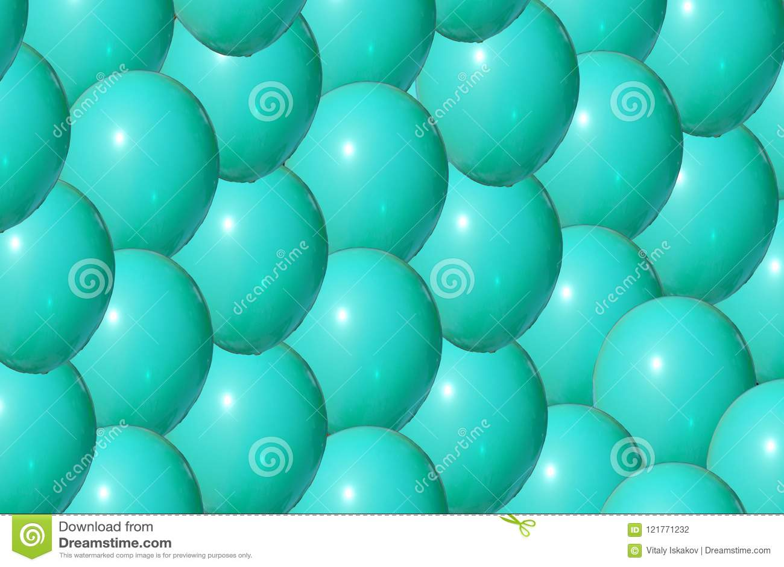 Закройте вверх пластичного красочного голубого шарика на спортивной площадке