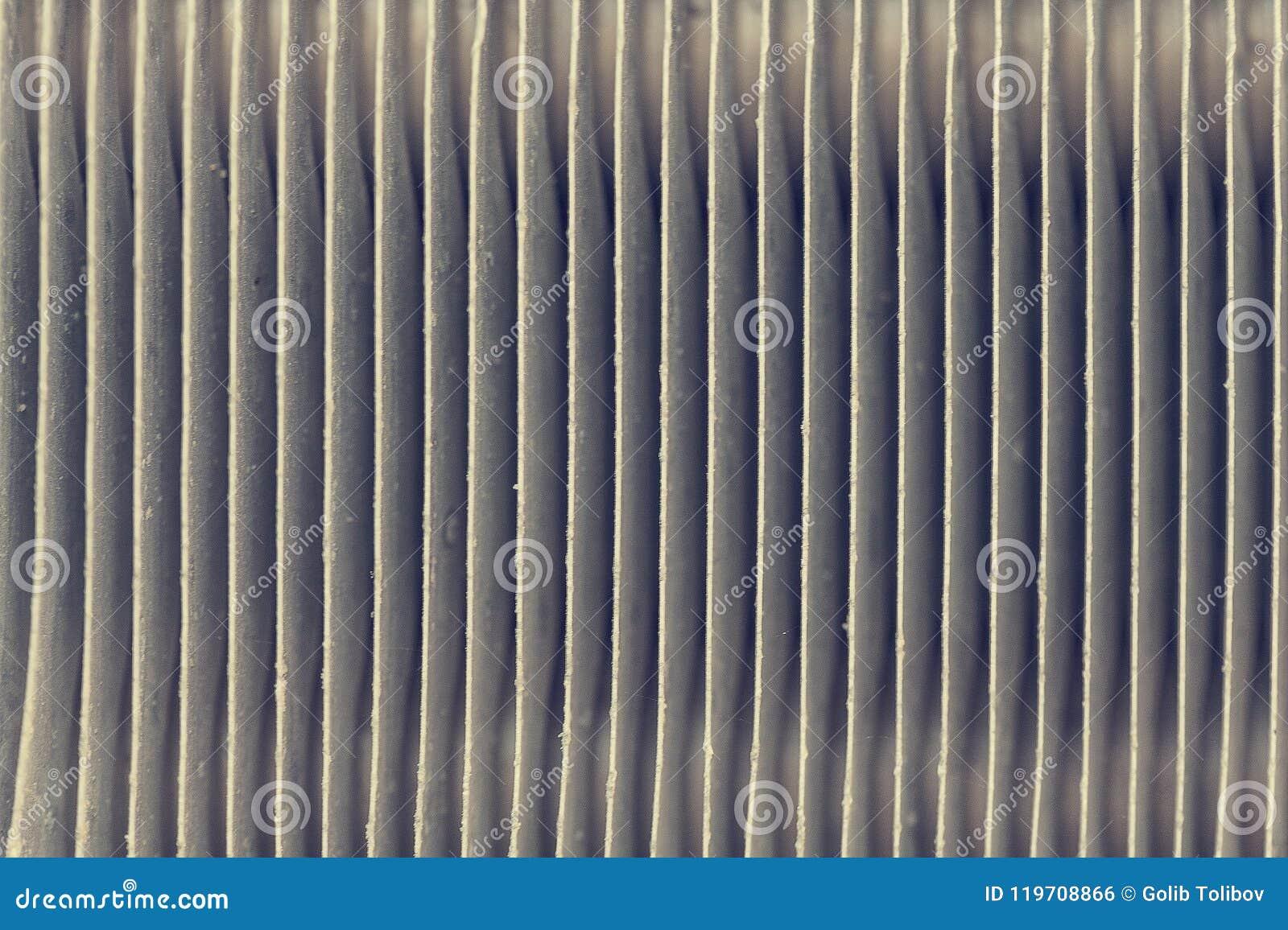 Закройте вверх по текстуре блока конденсатора кондиционера автомобиля Радиатор оборудования связи тонизированное изображение
