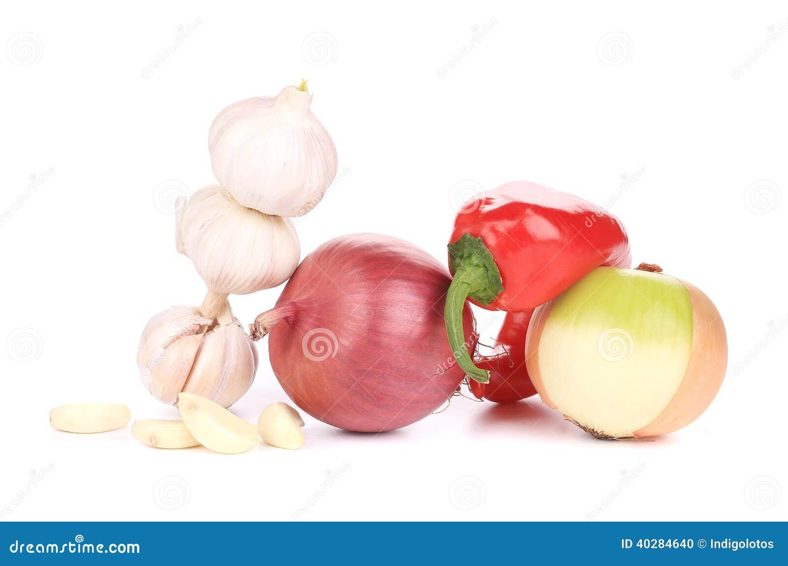 Закройте вверх свежих овощей