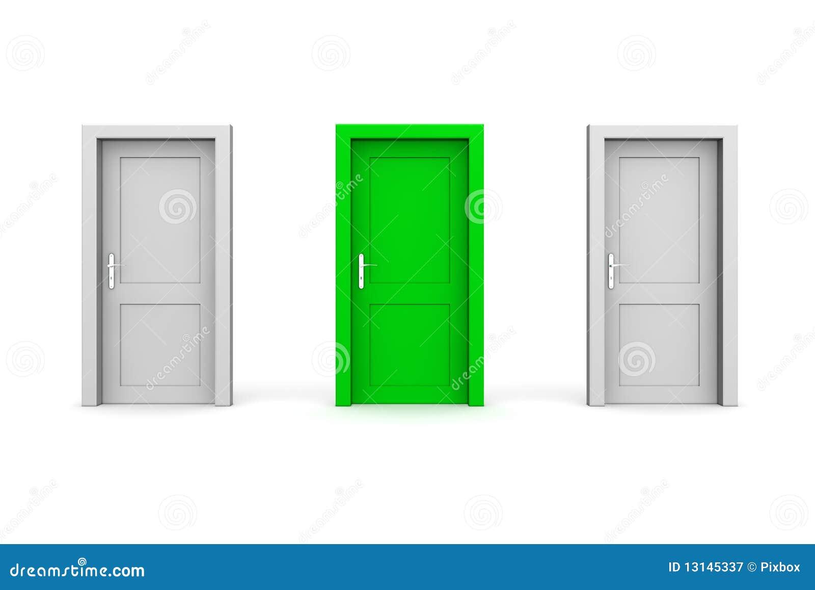 Цвет серый двери