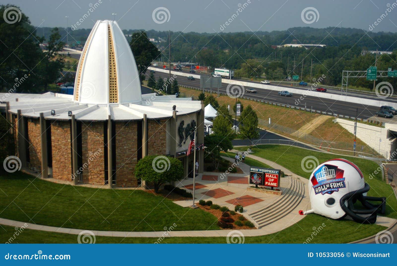зала nfl Огайо футбола славы кантона