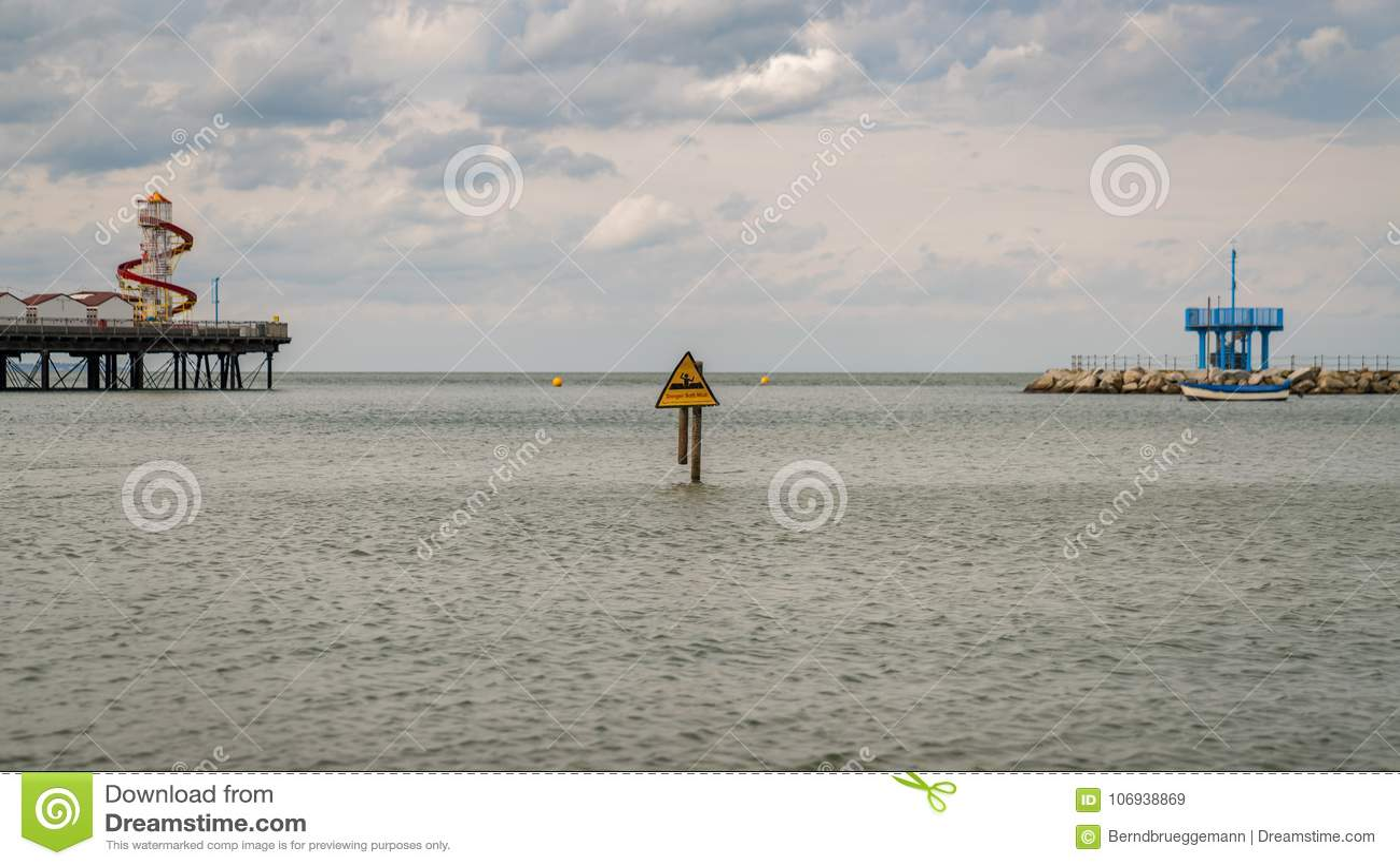 Залив Herne, Кент, Англия, Великобритания