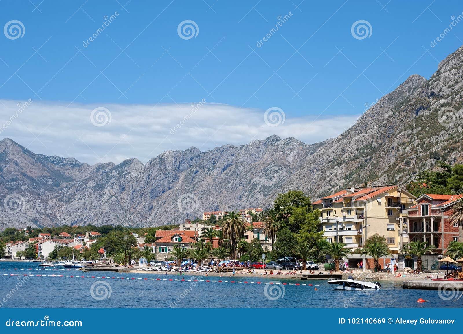 Залив Kotor, Балканы