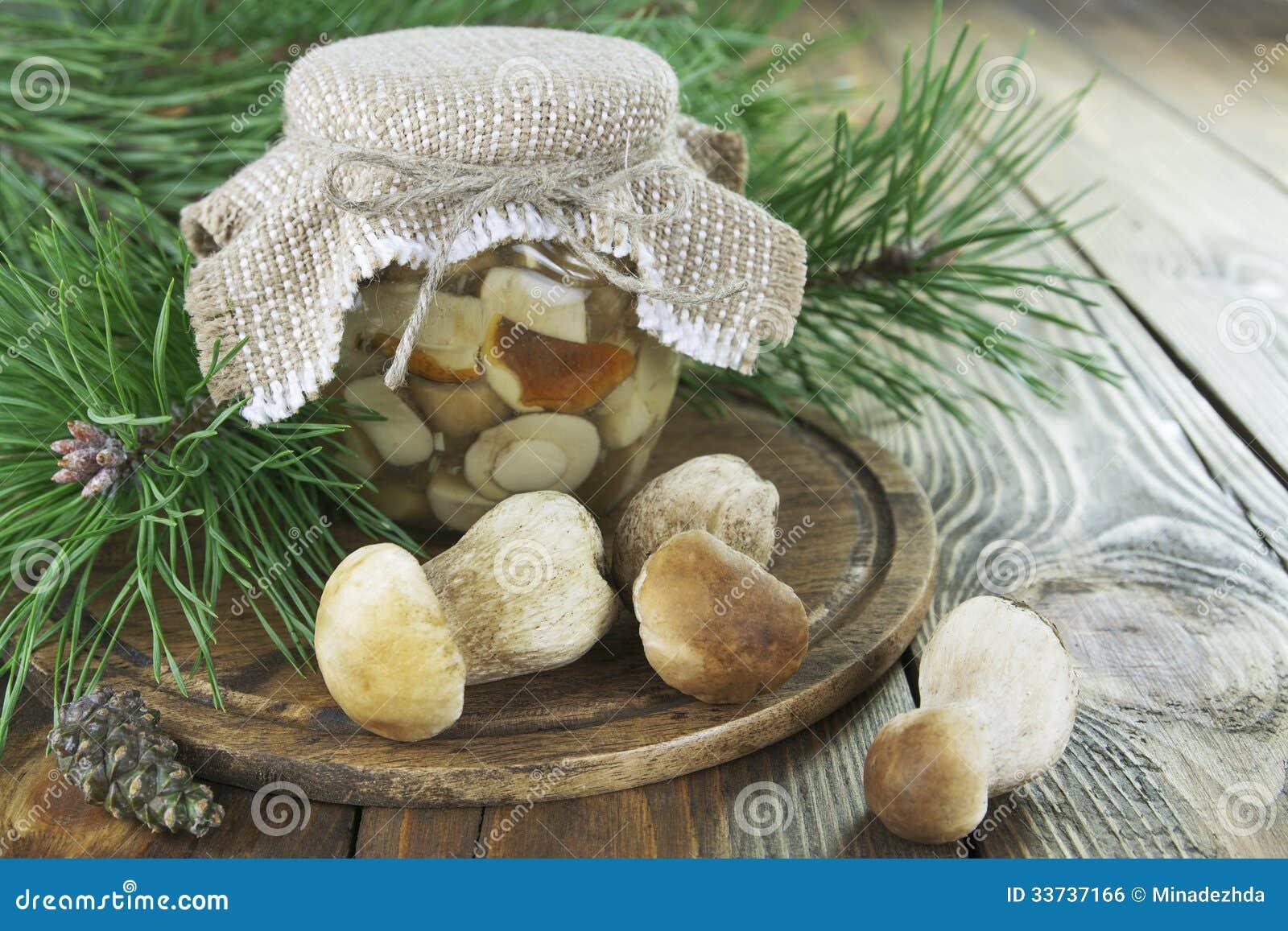 Замаринованные грибы