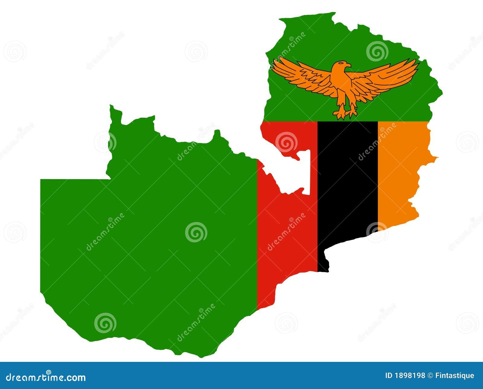 Замбия карты