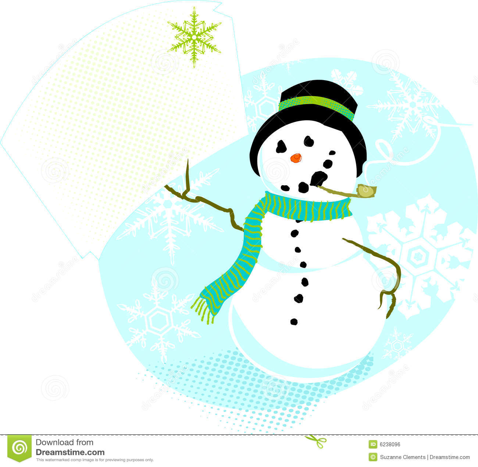 заметьте снеговик