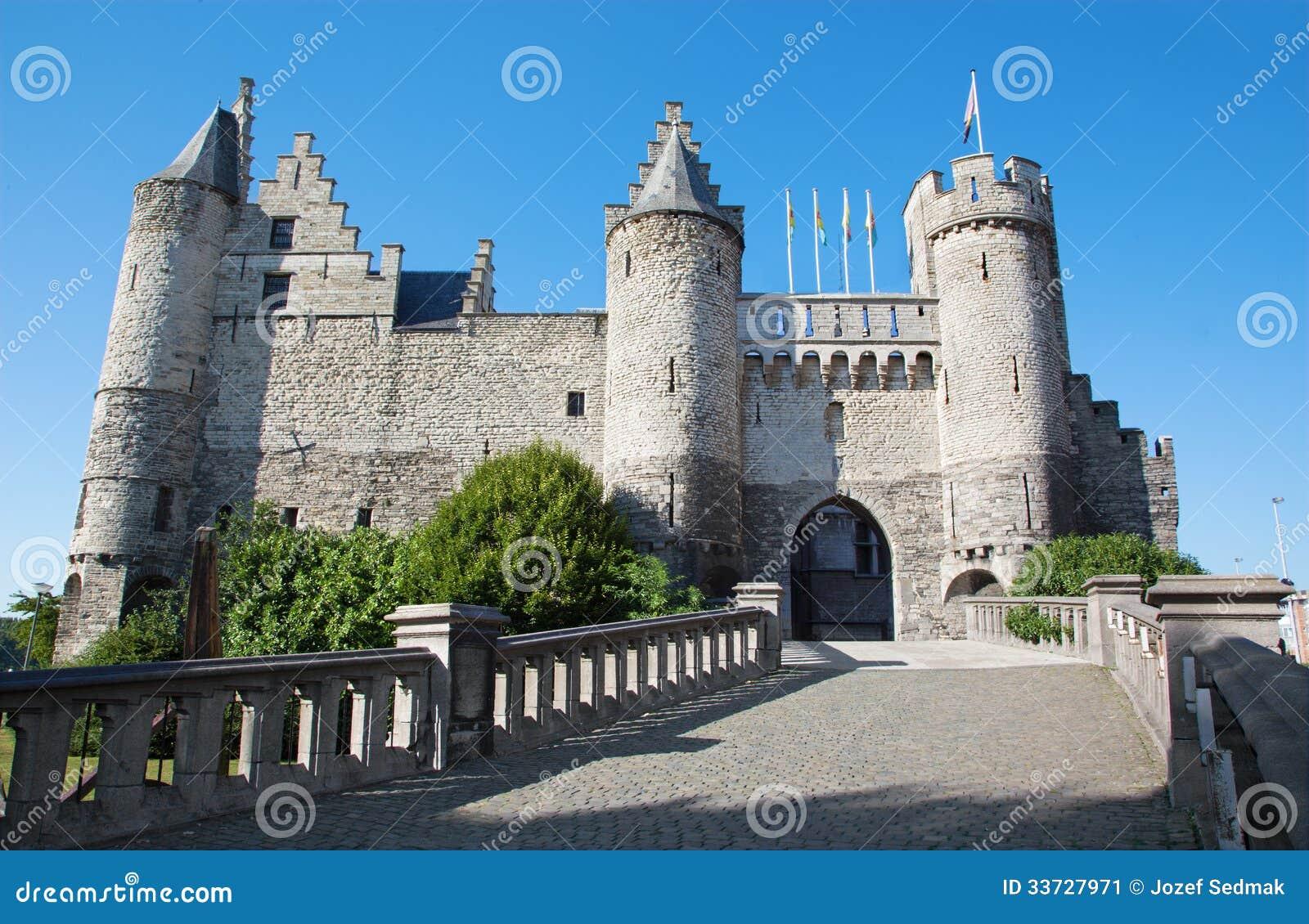 Замок Антверпена - Steen